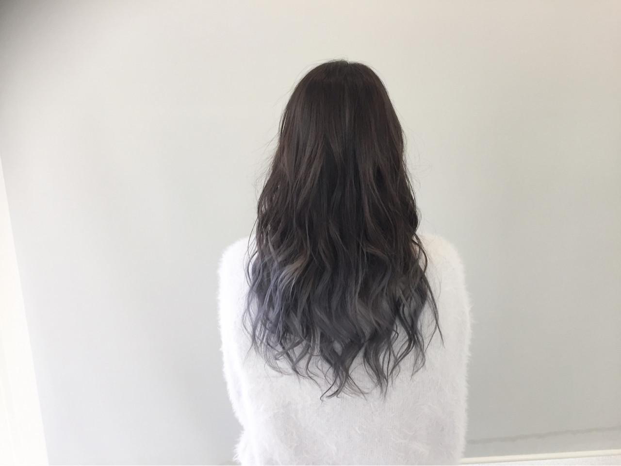 ロング×グラデーションなら清楚な透け感を出せる♡ 新谷 朋宏 | Free hairstylist shinya