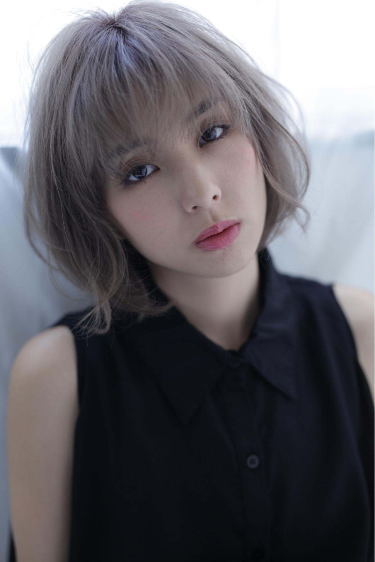 秋 ショート デジタルパーマ パーマ ヘアスタイルや髪型の写真・画像