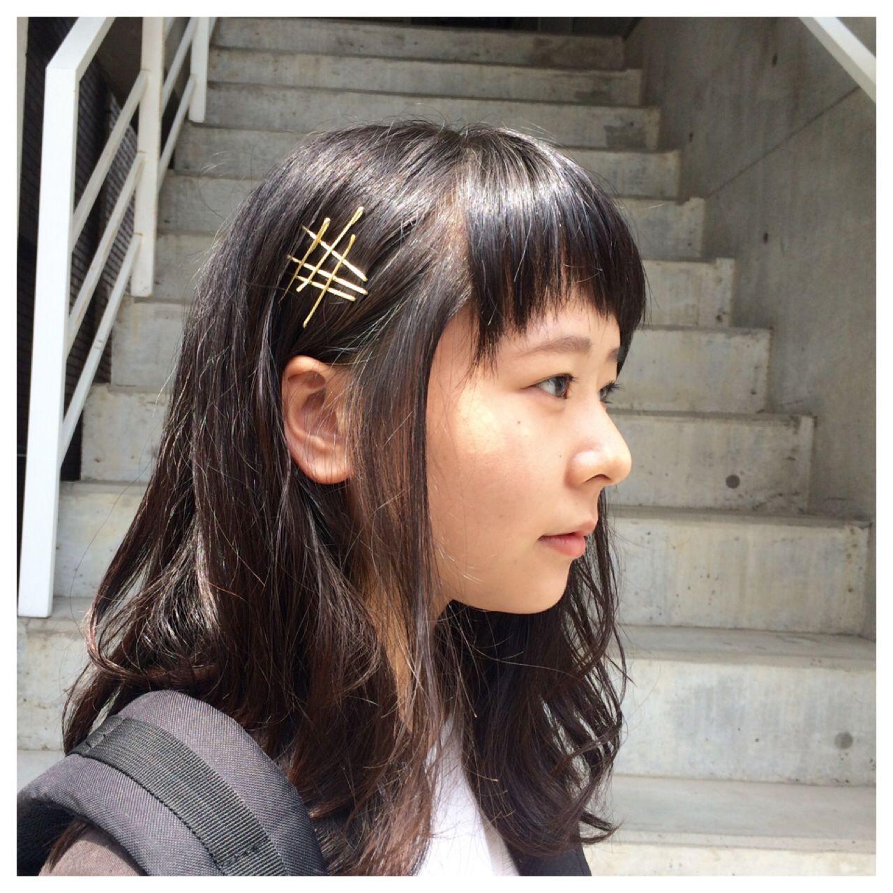 時短でできる校則OKのヘアピンアレンジ☆ 小林 亜美