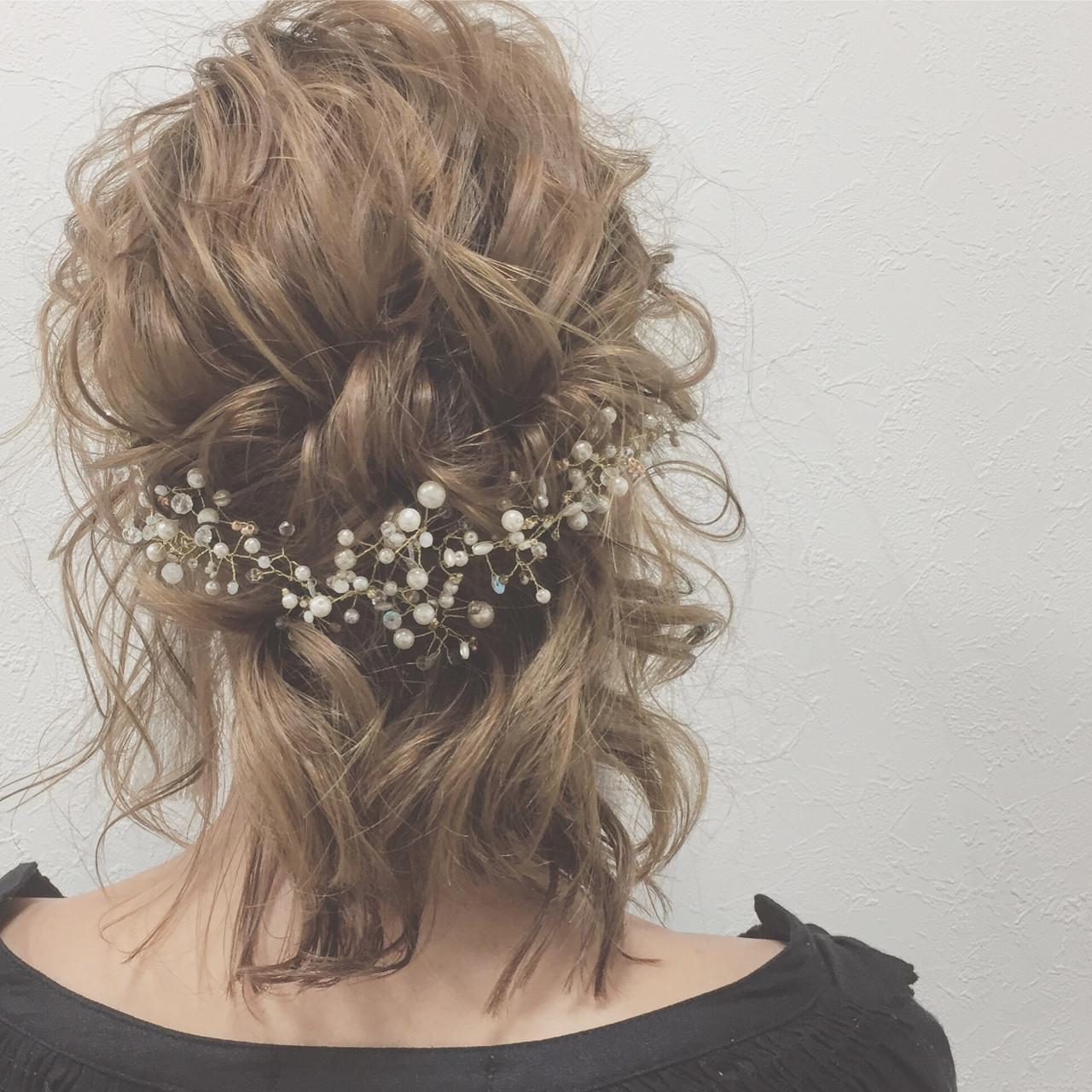 ヘアアレンジ 上品 結婚式 大人女子 ヘアスタイルや髪型の写真・画像