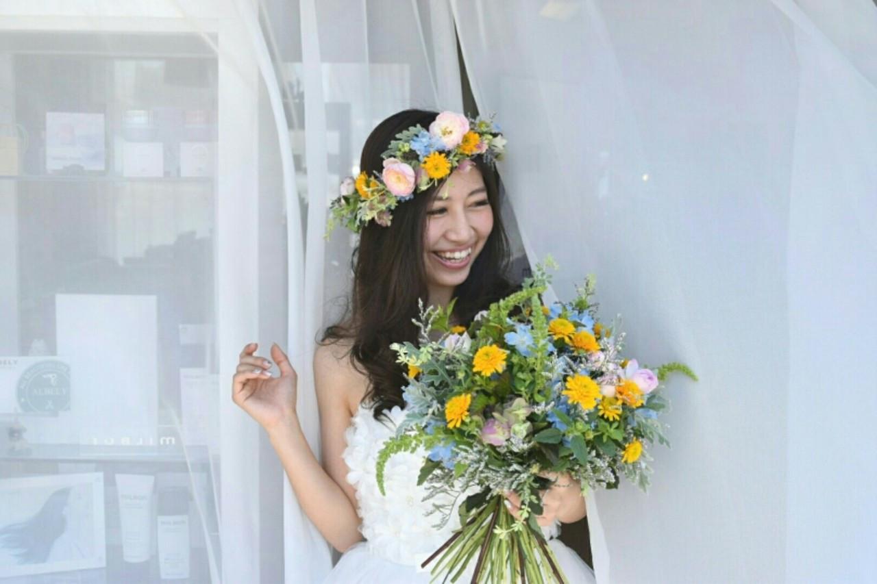 花を使うときはカラーに気をつけて! 椿 智仁