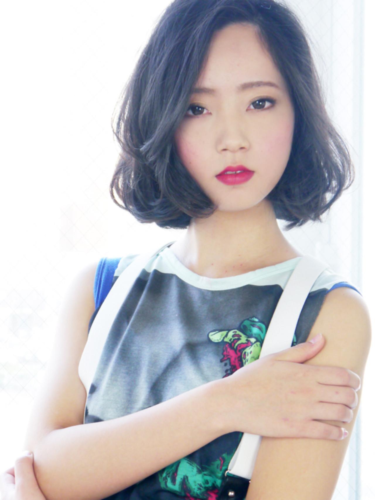 黒髪×サイドパートで大人っぽく♪ 松田みゆき/JurerBelle | JurerBelle