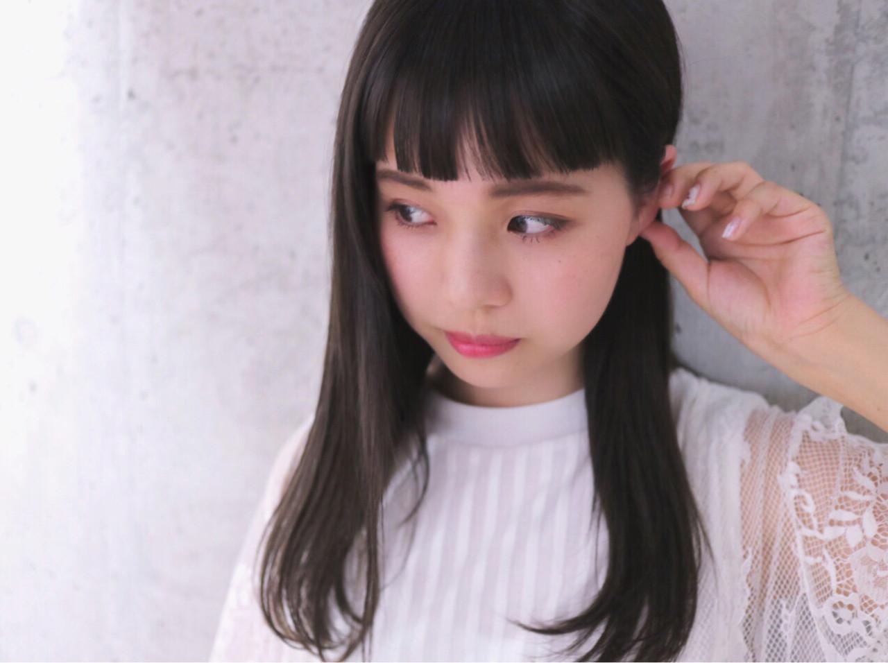 オン眉バングでトレンド☆ロングヘア 朝倉 壮一朗【CRAFT】