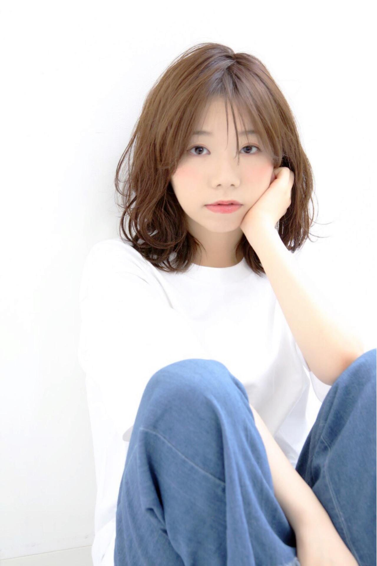 伸びかけの前髪をブローでセット 大嶋 理紗