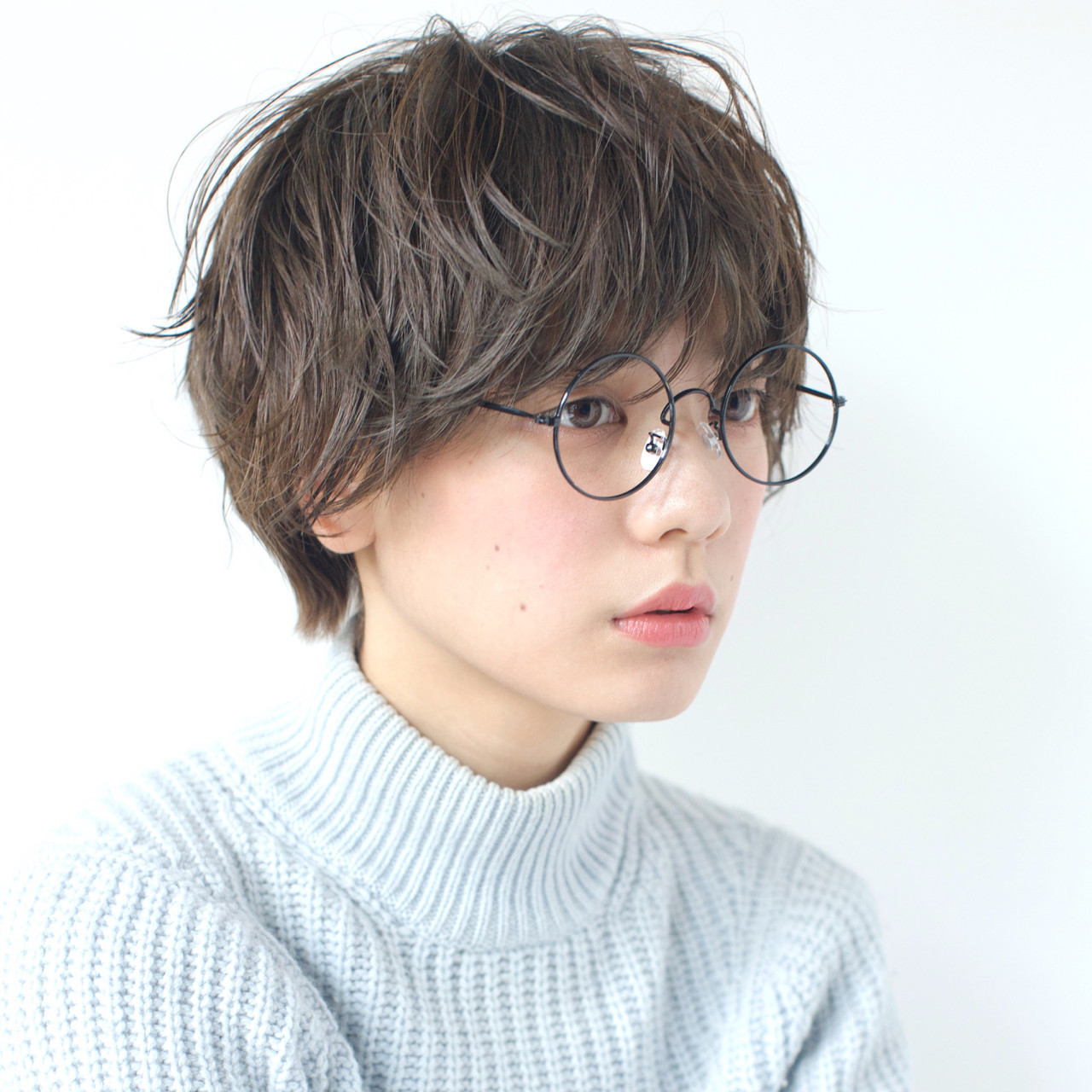 ニュアンスパーマが引魅力的♡アッシュベリーショート 佐脇 正徳