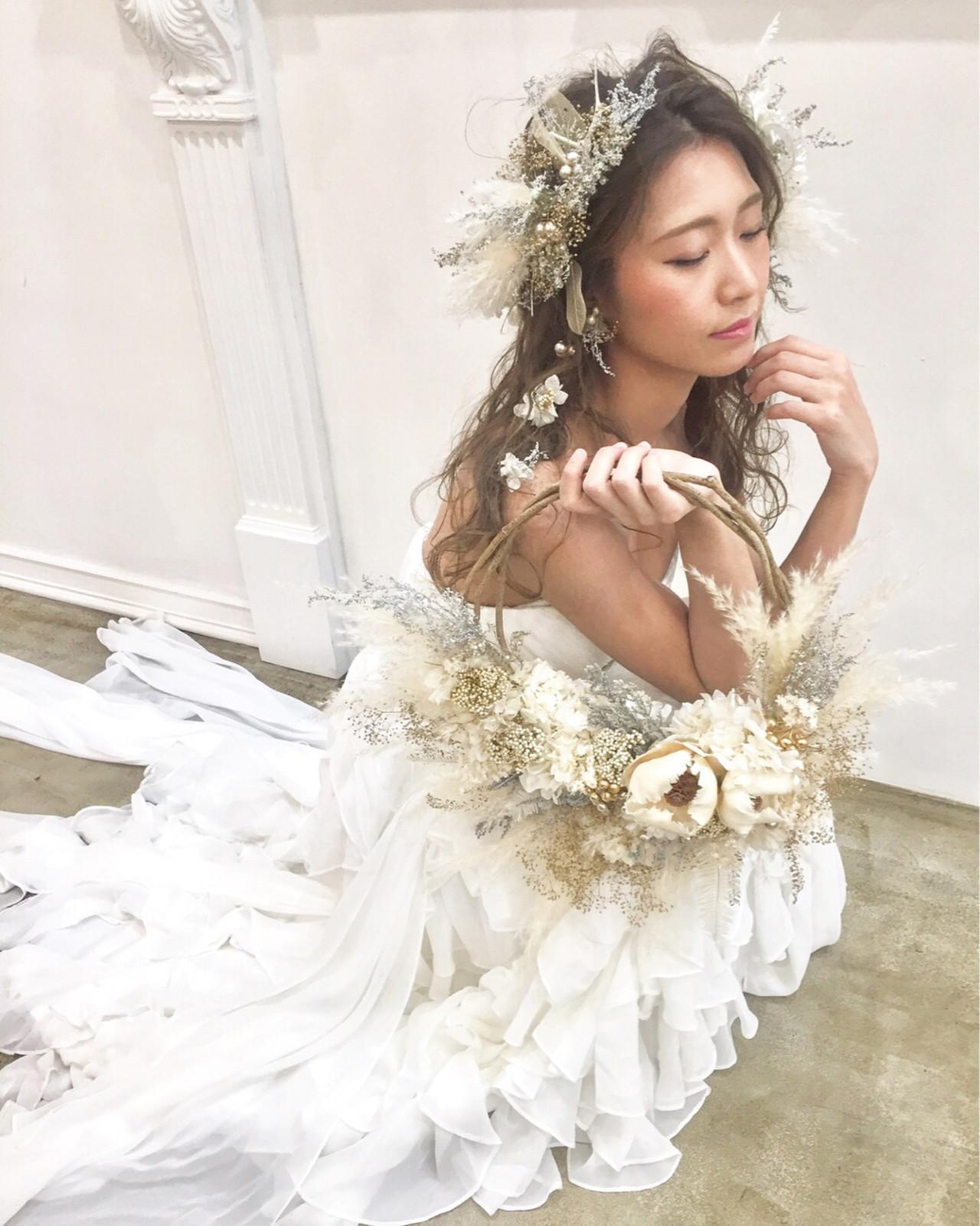 髪型とウェディングドレスの相性は大切 宮田 恵里香