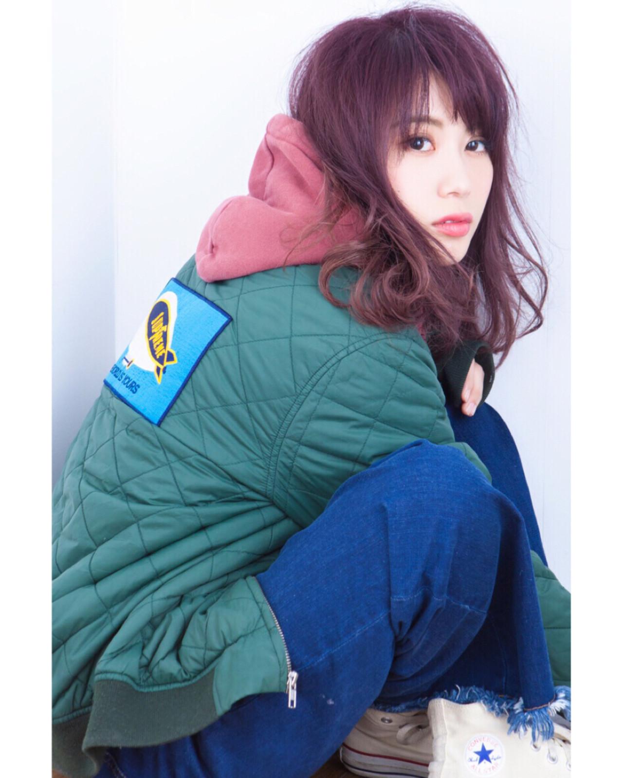 女性らしさが際立つマニッシュミディアム 長井 浩気