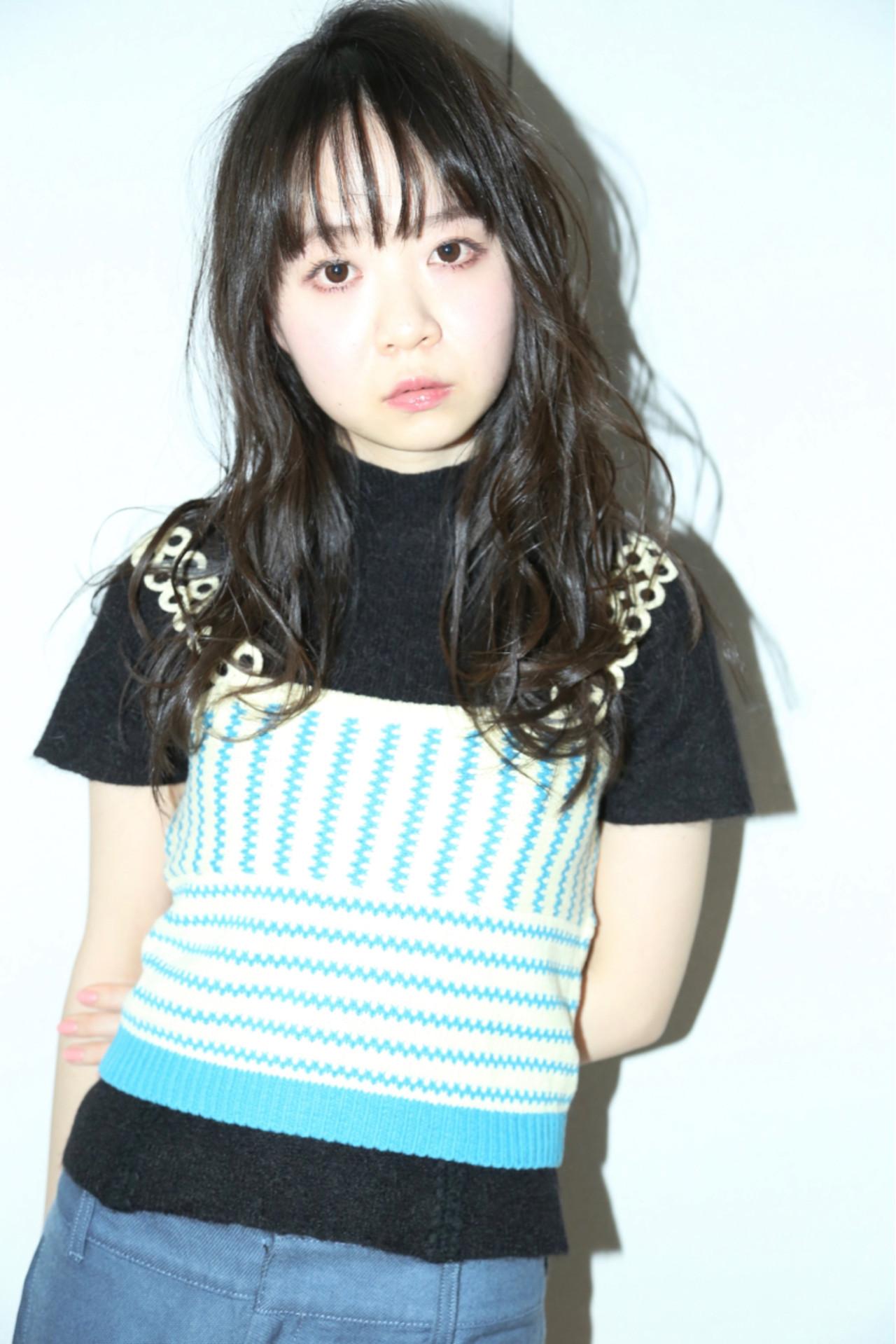 透けバングで気になる縦ラインを強調♪ kiyoshi コハラ ヨシユキ | Hair and Make kiyoshi