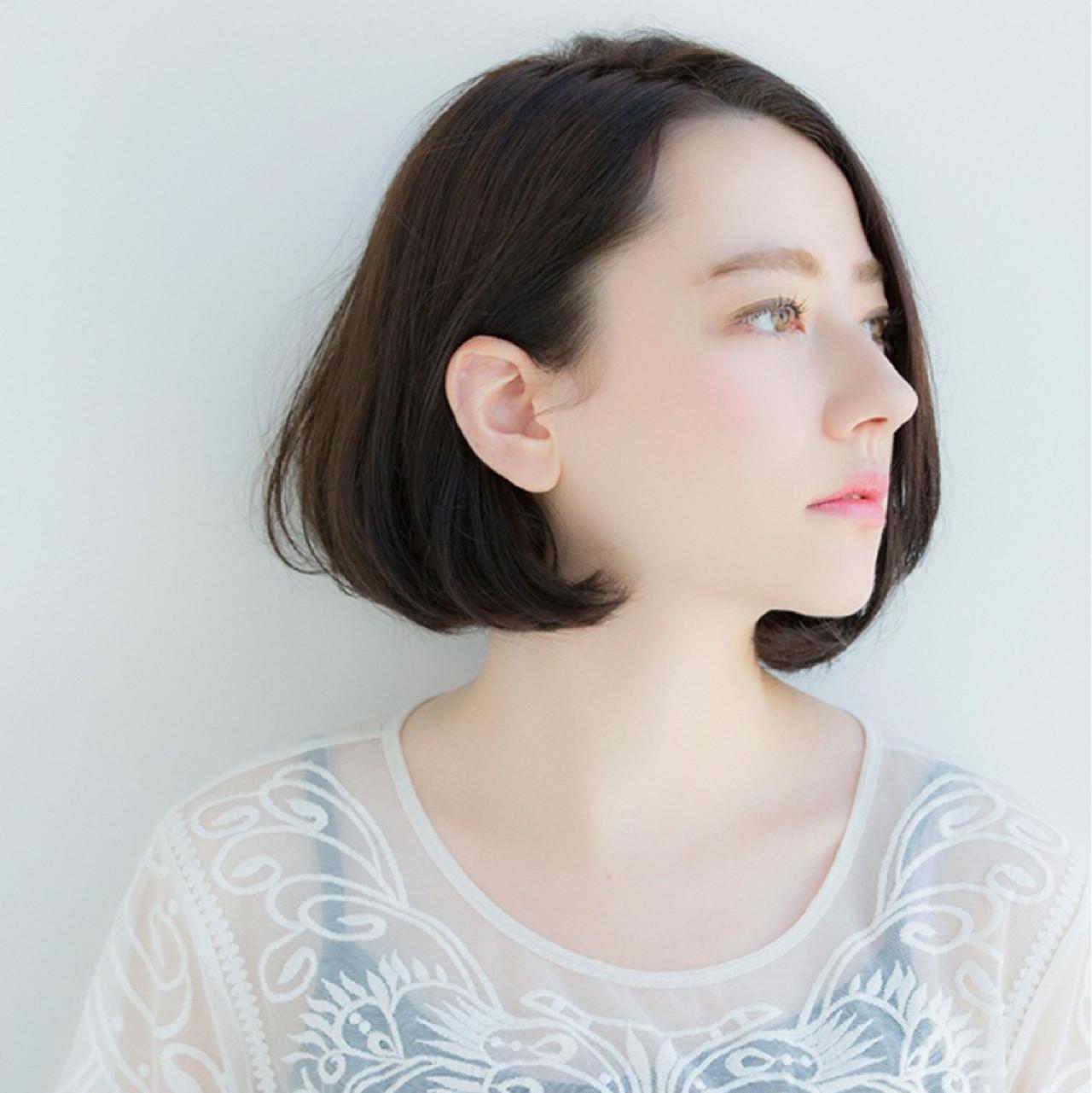 耳かけワンレンボブで大人っぽさUP♪ 東 純平 | Ramie omotesando