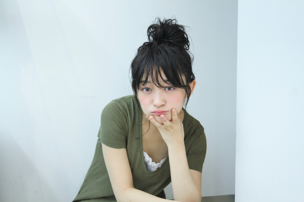 大人かわいいラフなお団子♪ Yukie Horiuchi