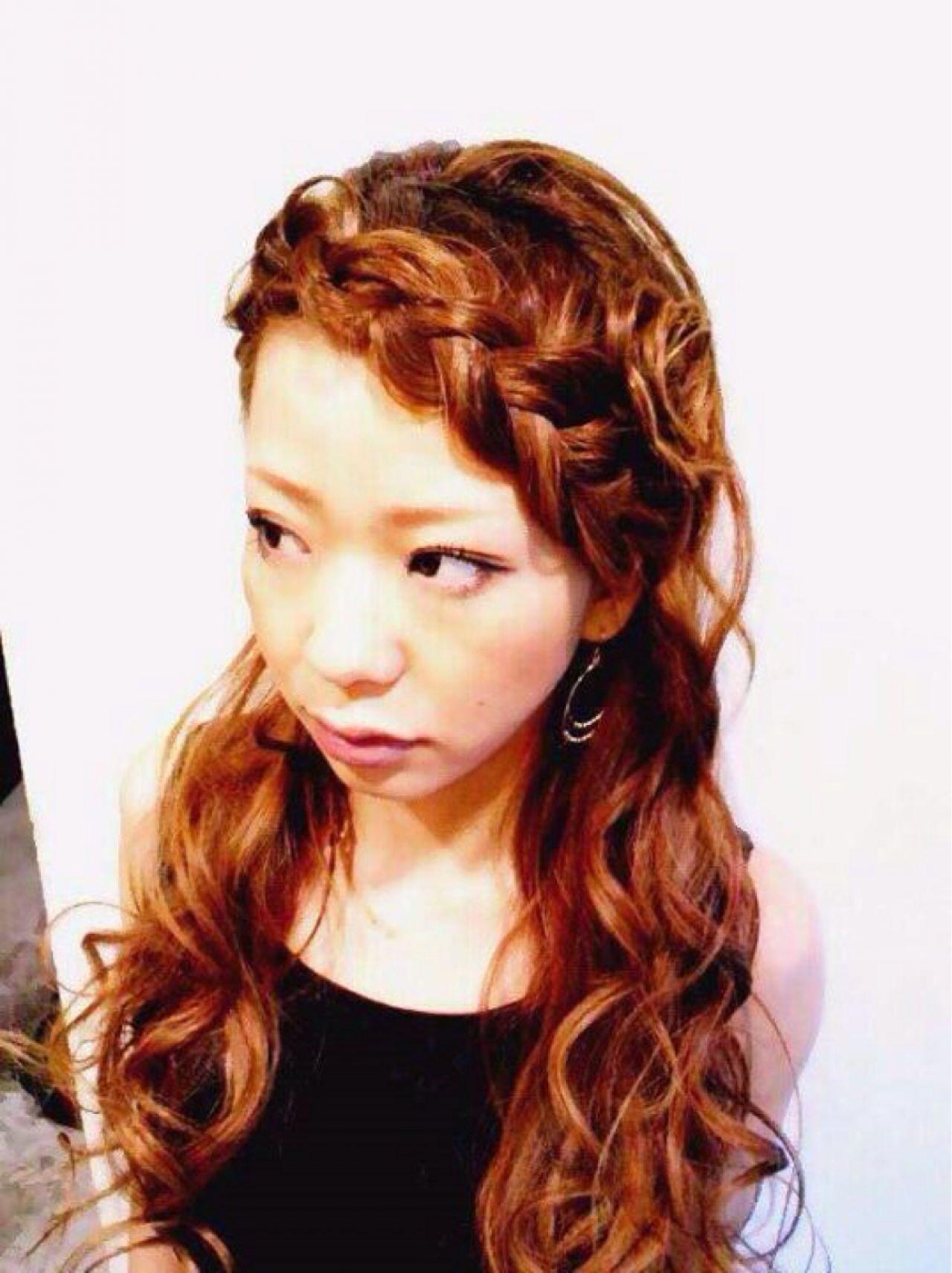 イメチェンを叶える編み込み前髪アレンジ YUMIKO TAKADA