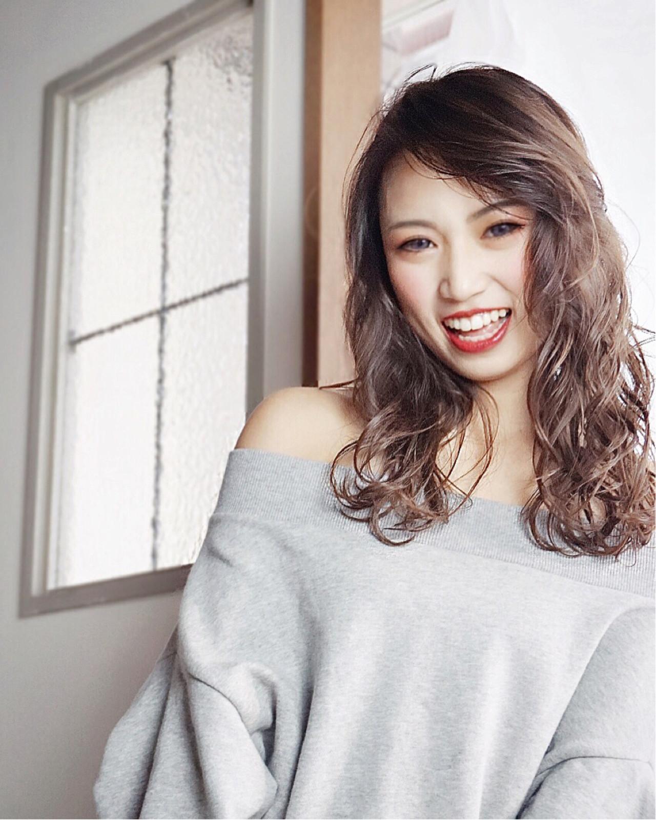 ひし形をつくって小顔でキレイな女性に KEN | hair&nail Lien(リアン)