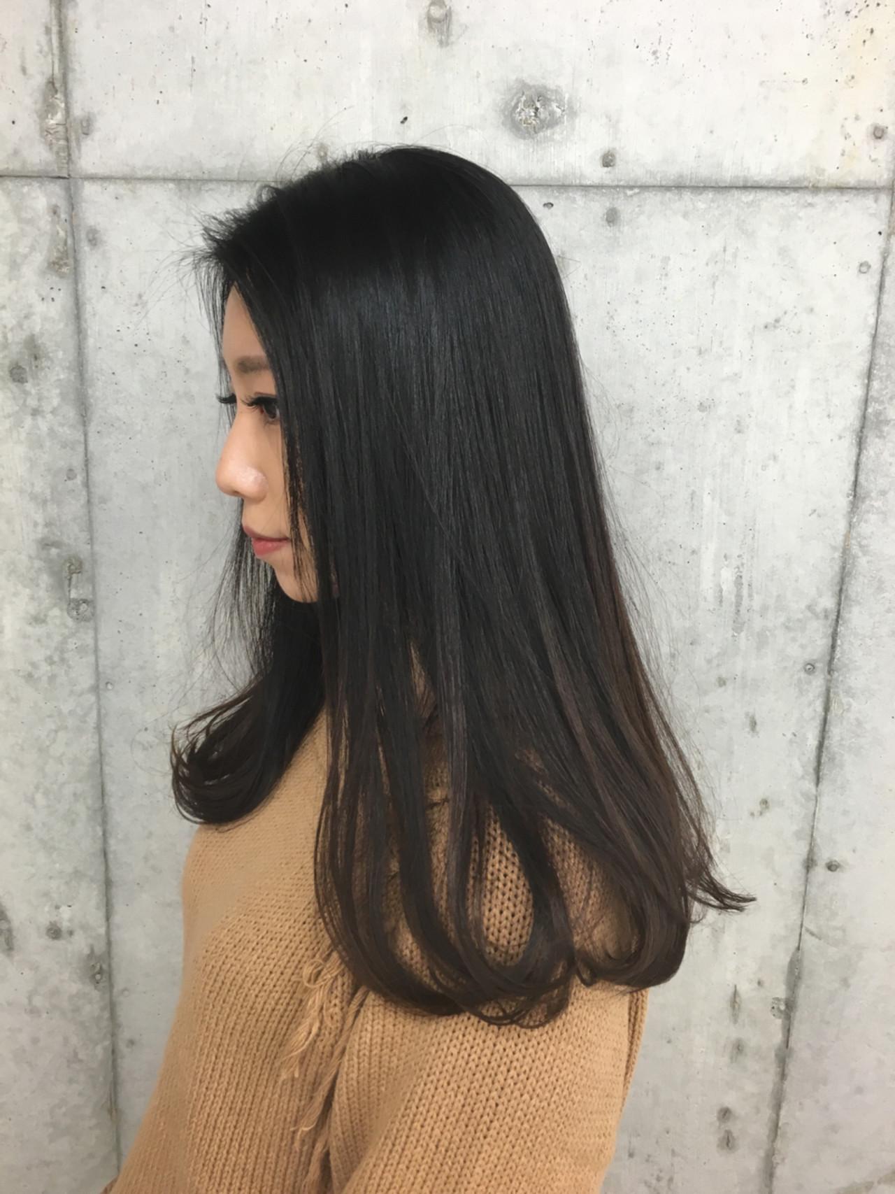 清楚で清潔感溢れる黒髪ロングヘア 関根慶介