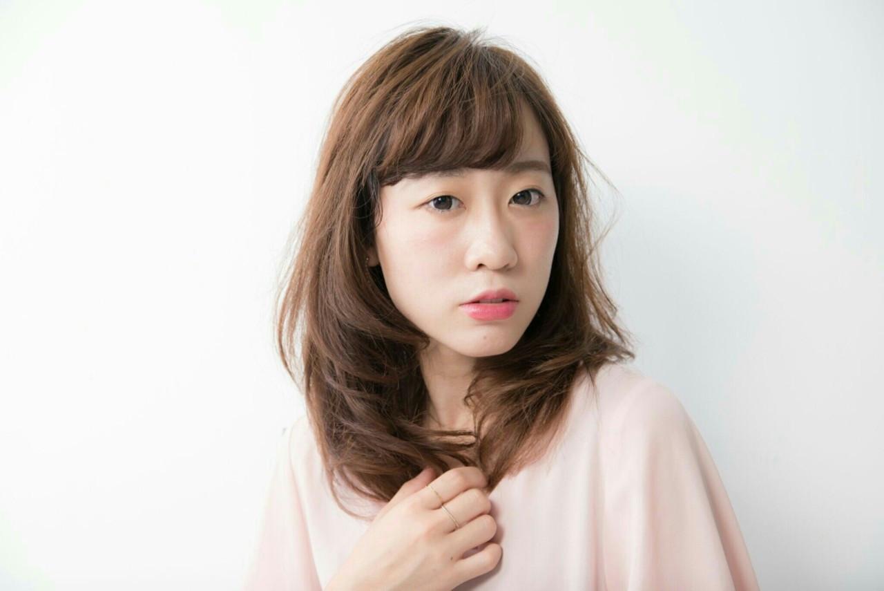 内巻き×シースルーで上品な女性に♪ Naoki Ozawa  Luce