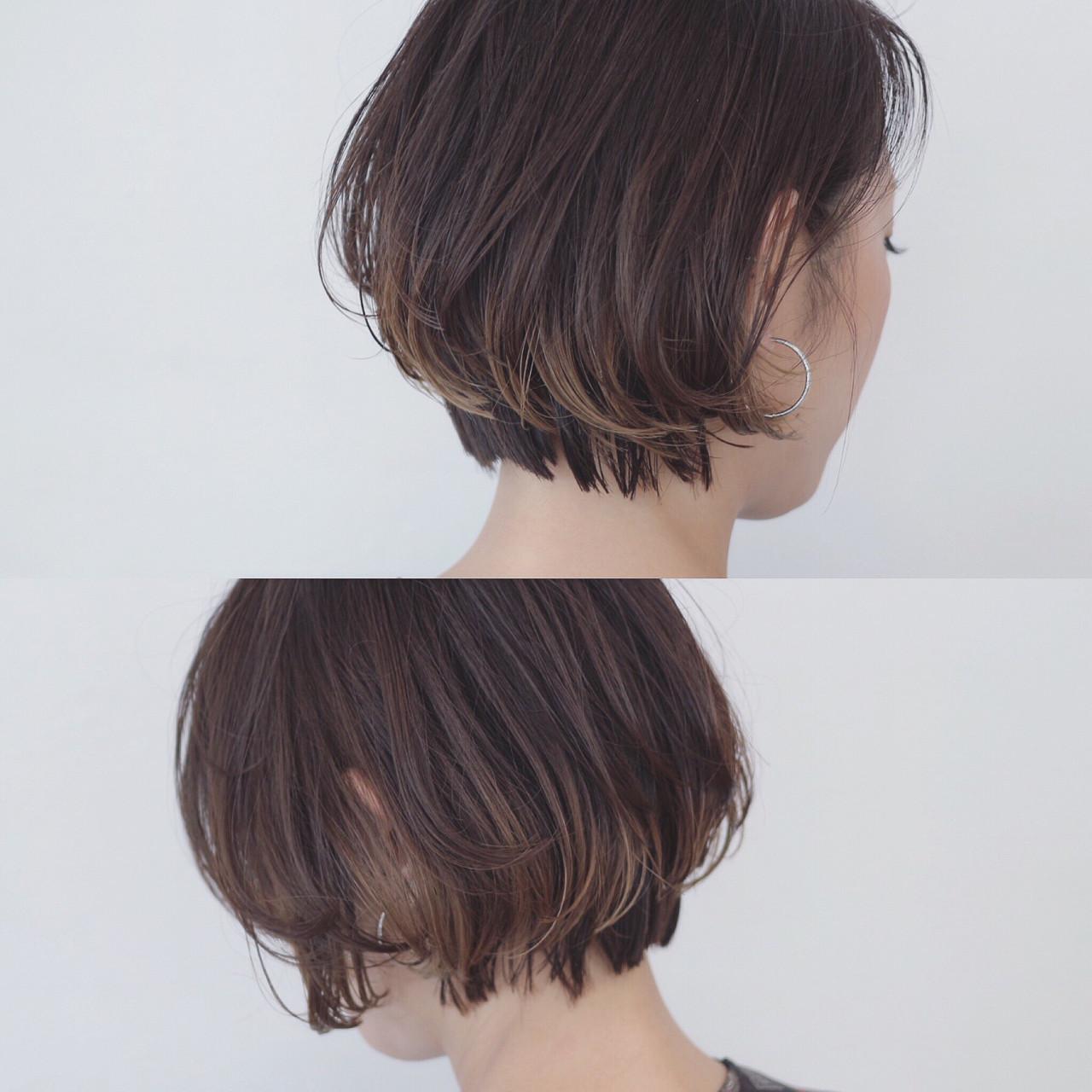 大人♡なアッシュブラウンのグラデーションヘア 三好 佳奈美