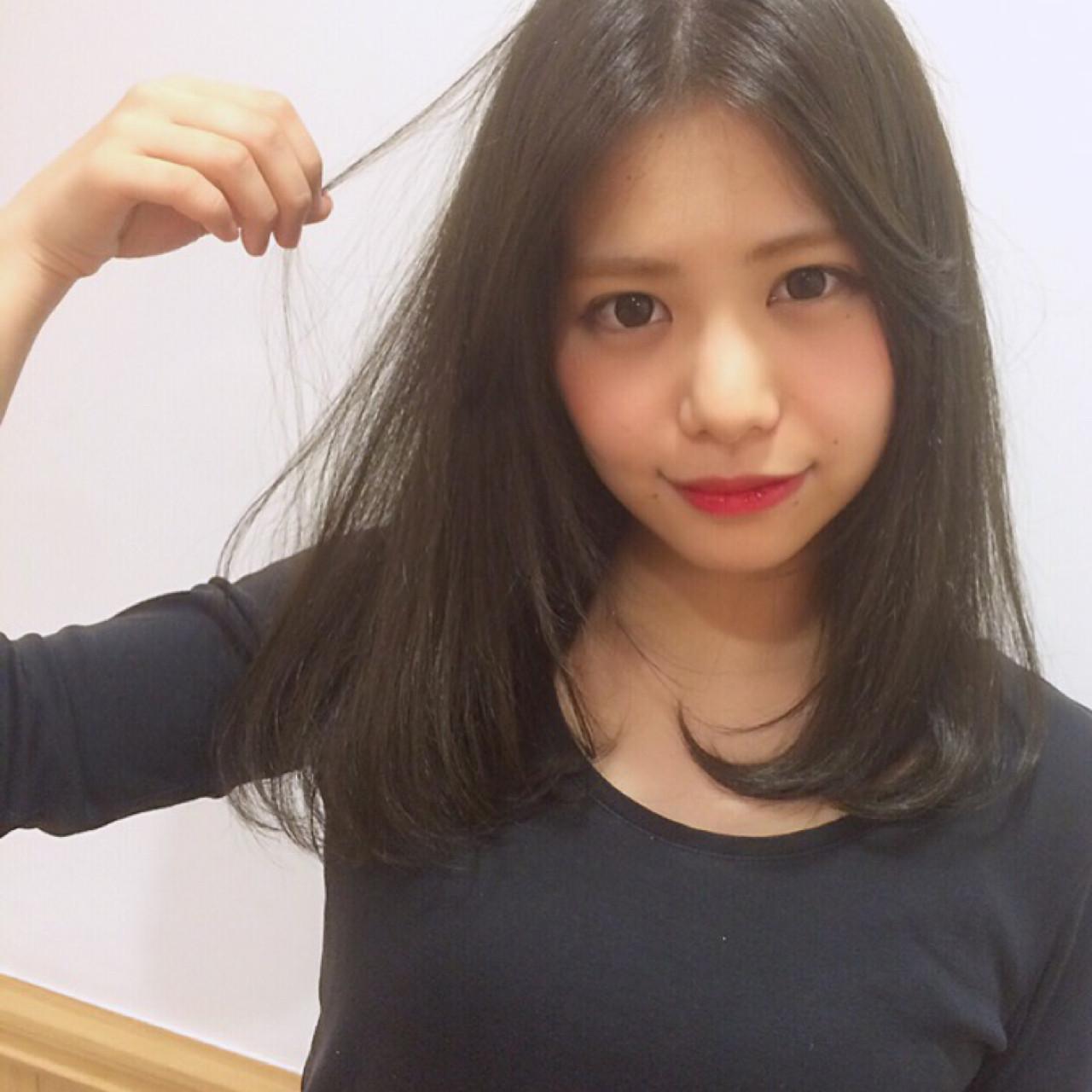 短い前髪をアイロンで流す 岩田 和也 / NOE SALON