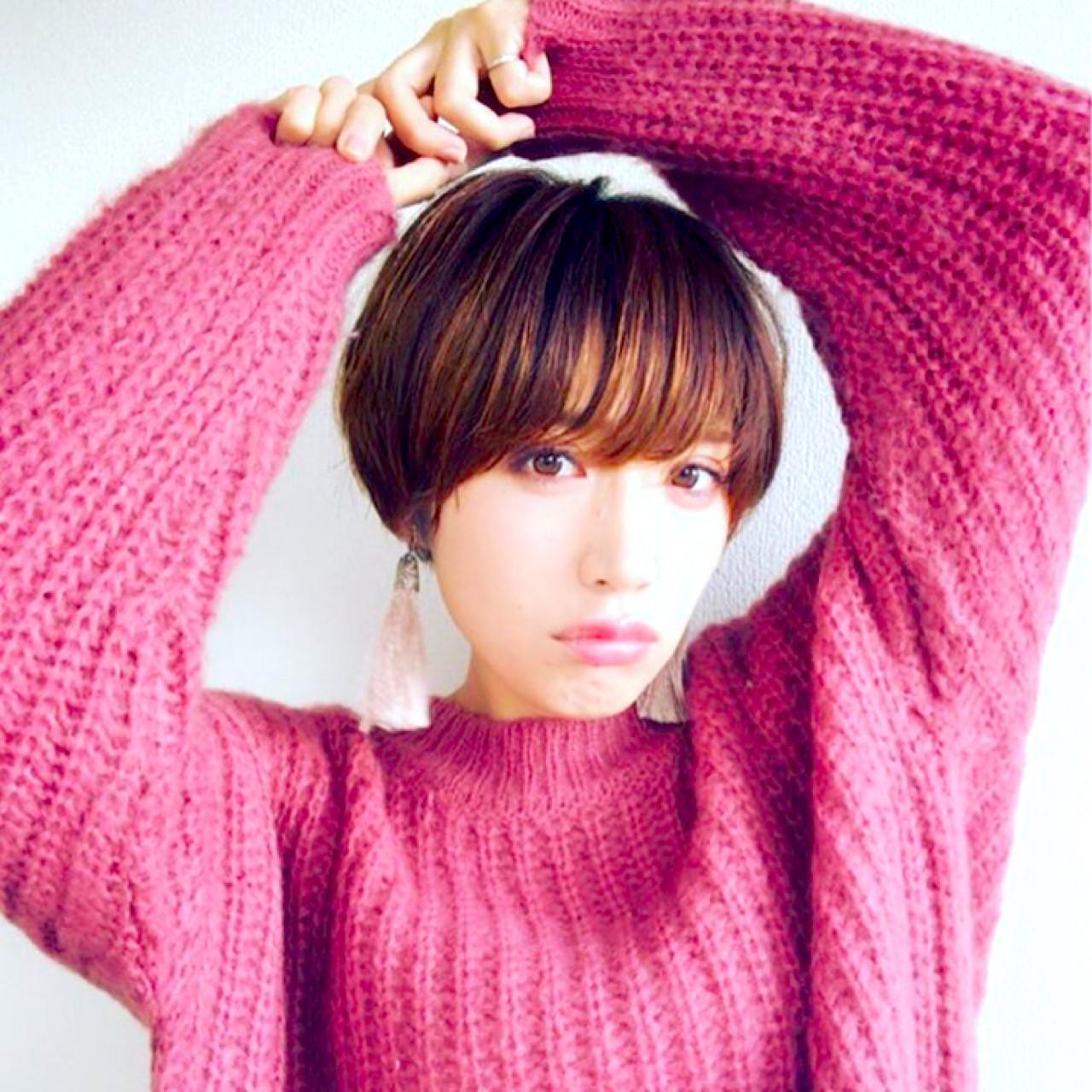 厚めのウザバングでキュートな女性に♡ yuunn