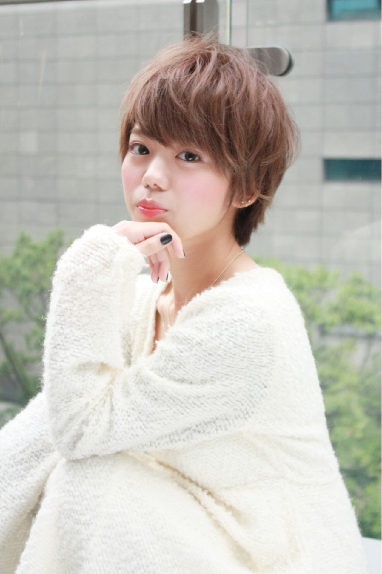 エアリーショートで軽やかな女性に 小本 敬 / kei komoto | 資生堂ビューティーサロン コレド日本橋店