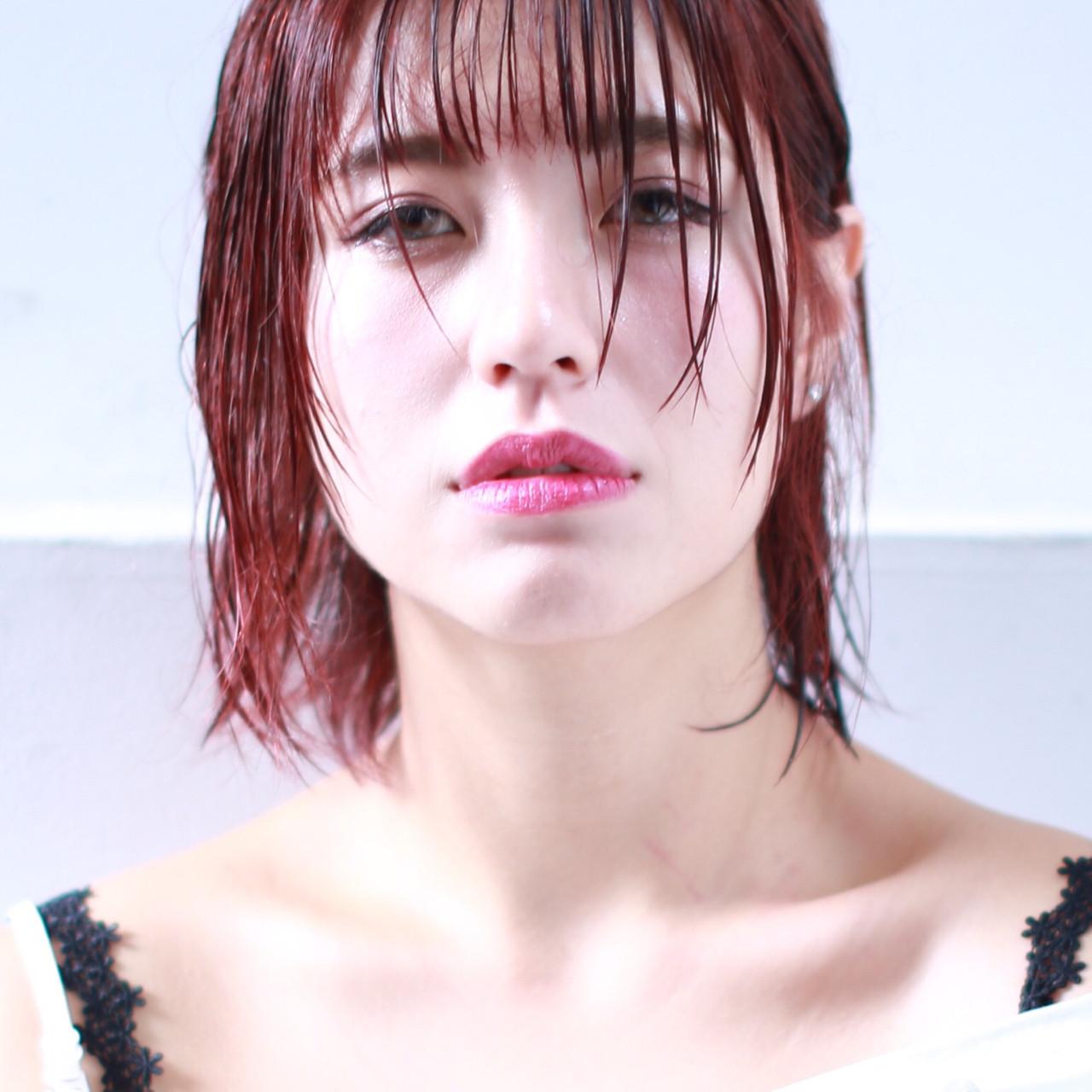 バングを長めに残してあげればアンニュイに イマムラ スナオ | hair&make JOJI