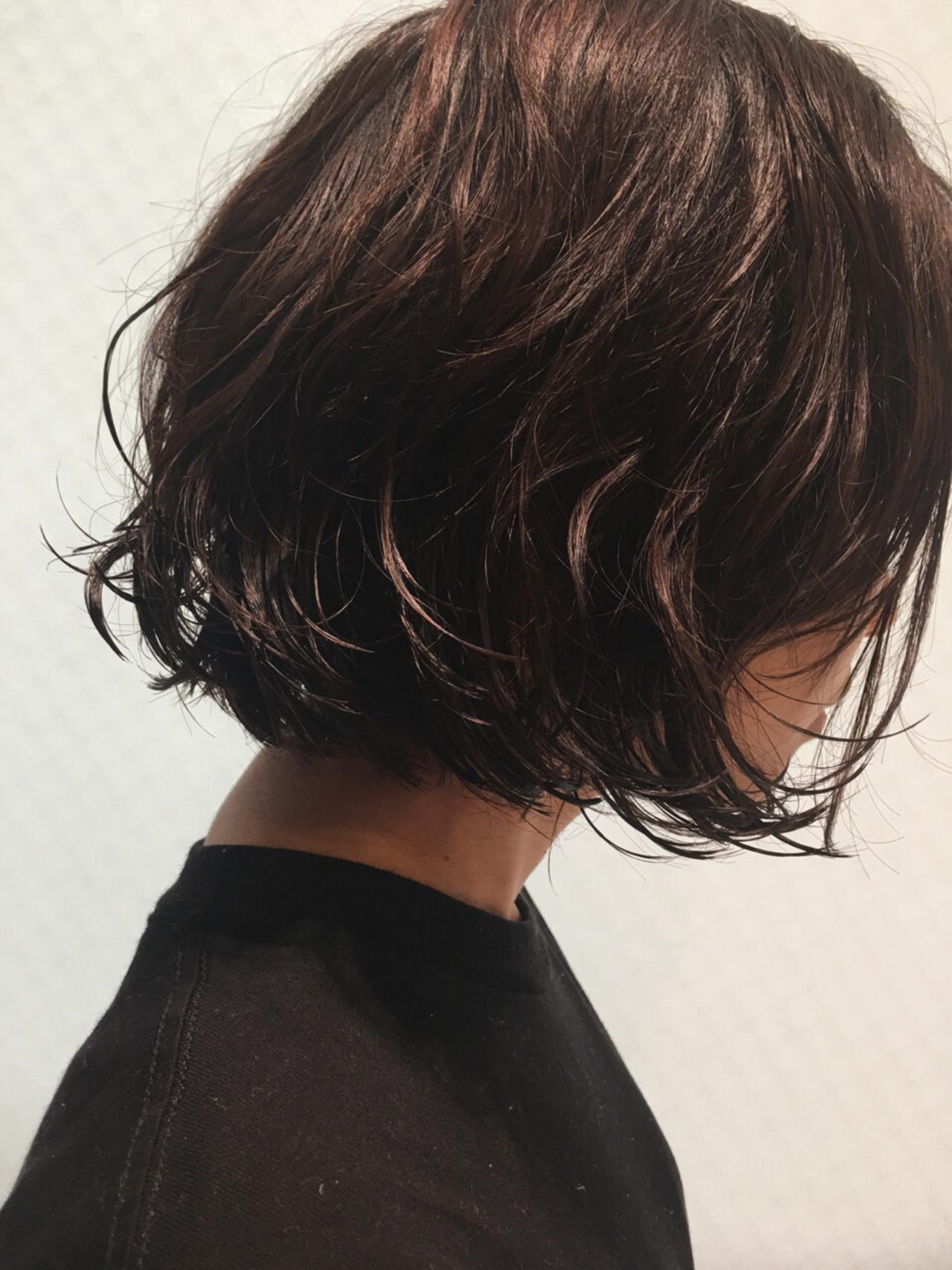 上品な暗髪オトナ女子を目指すならダークブラウン Akira Koikeda