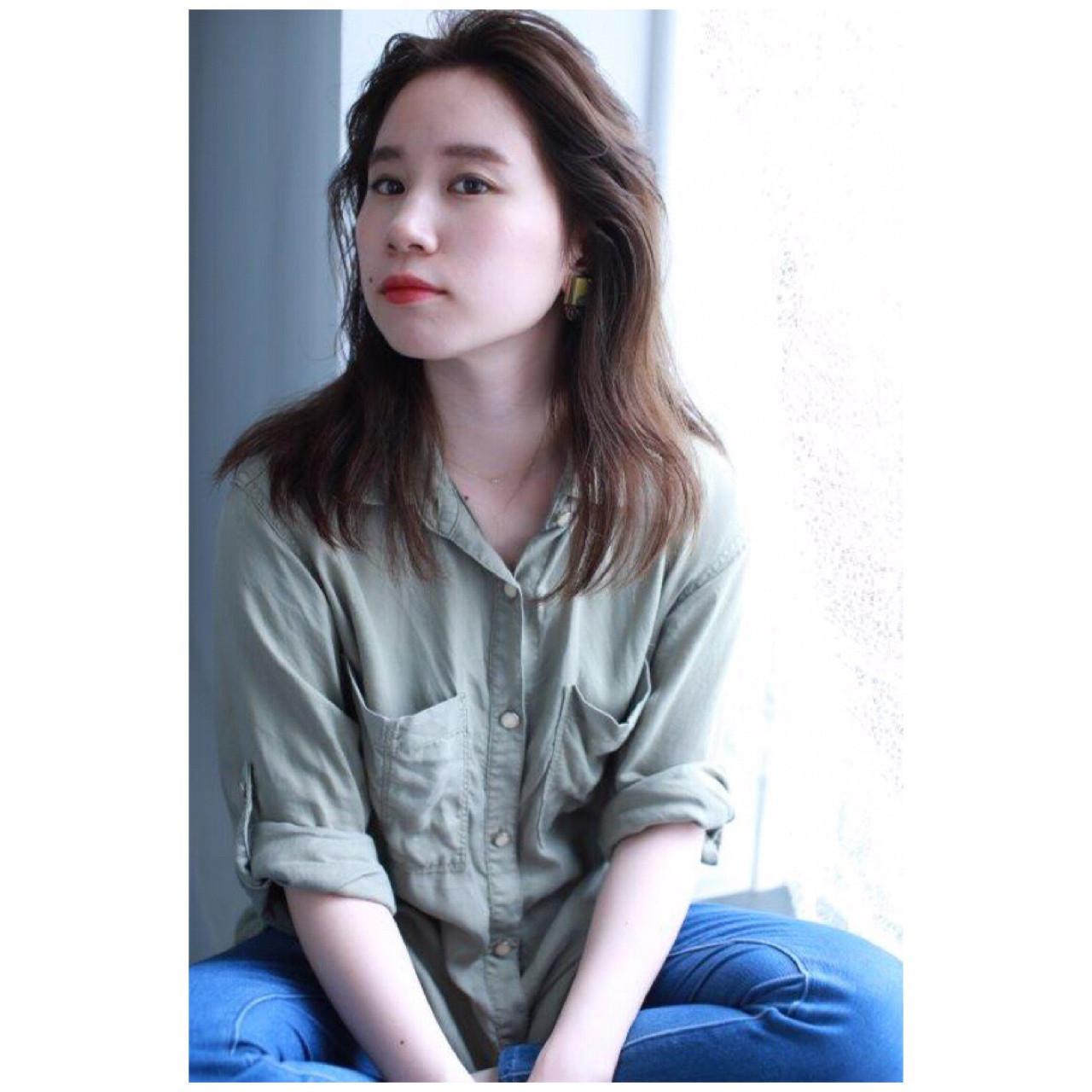 アップバングでかっこよさを表現 Yumi Hiramatsu | HAIR&MAKE JOJI