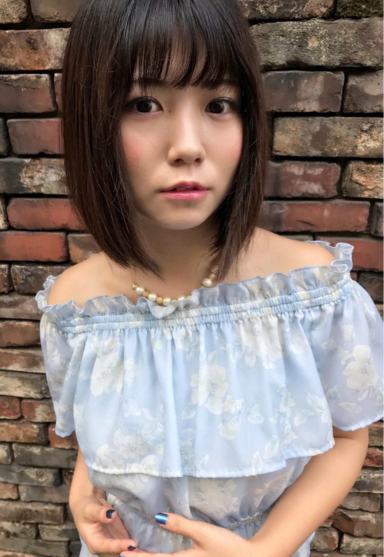 黒髪だから似合う♡サラサラ艶髪のお嬢様風大人ボブ Kohe Kamijo