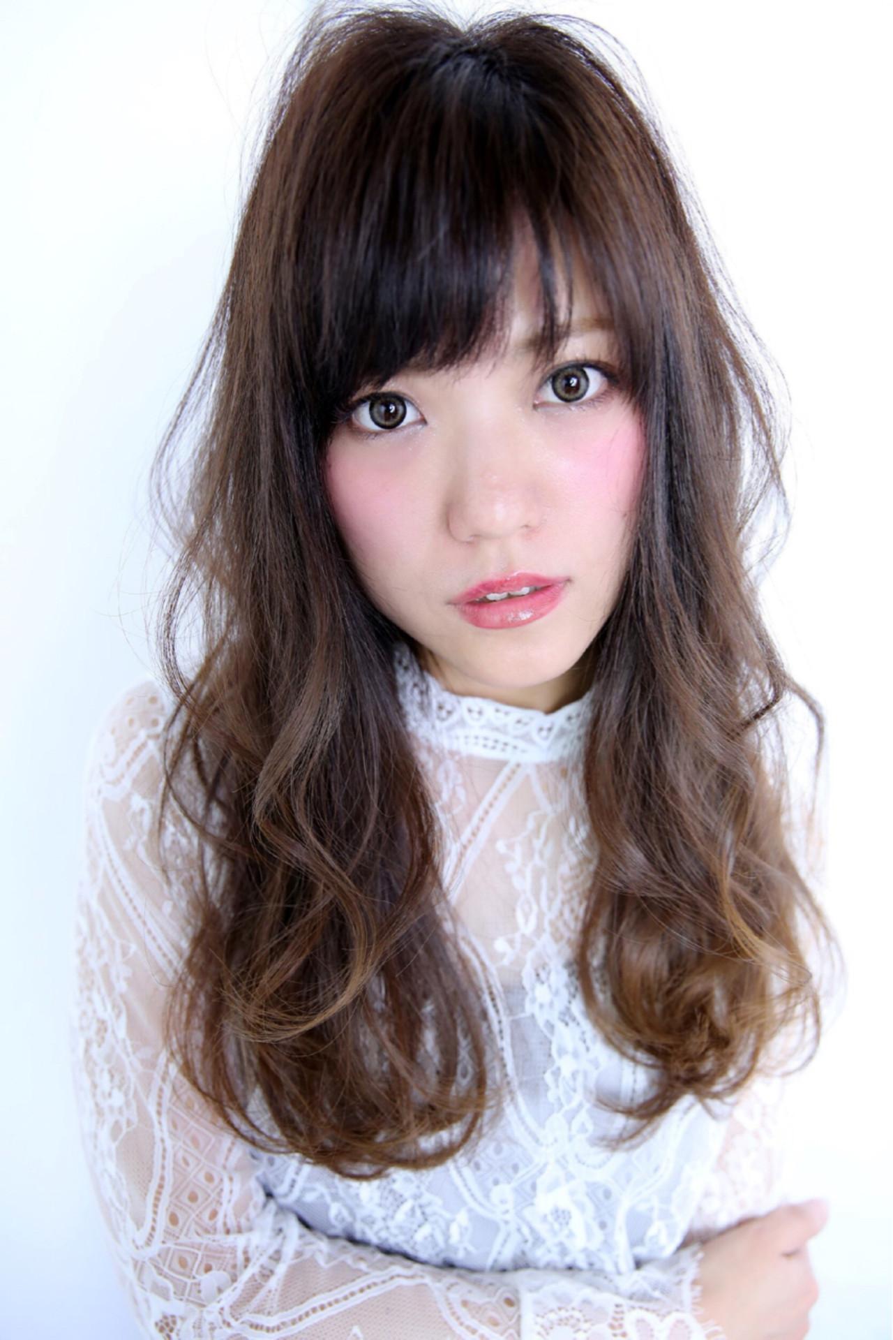 厚めバング×ひし形で大人カワイイ♡ Marika Yoshioka