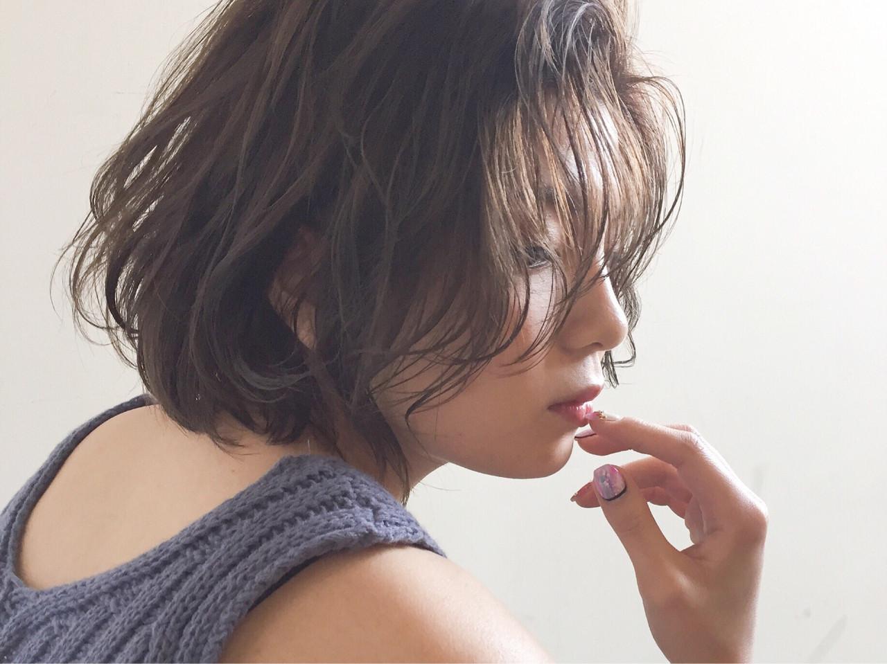 大人の色気が出せるヘルシーショート♡ 三木康平 | the BRIDGE hair salon