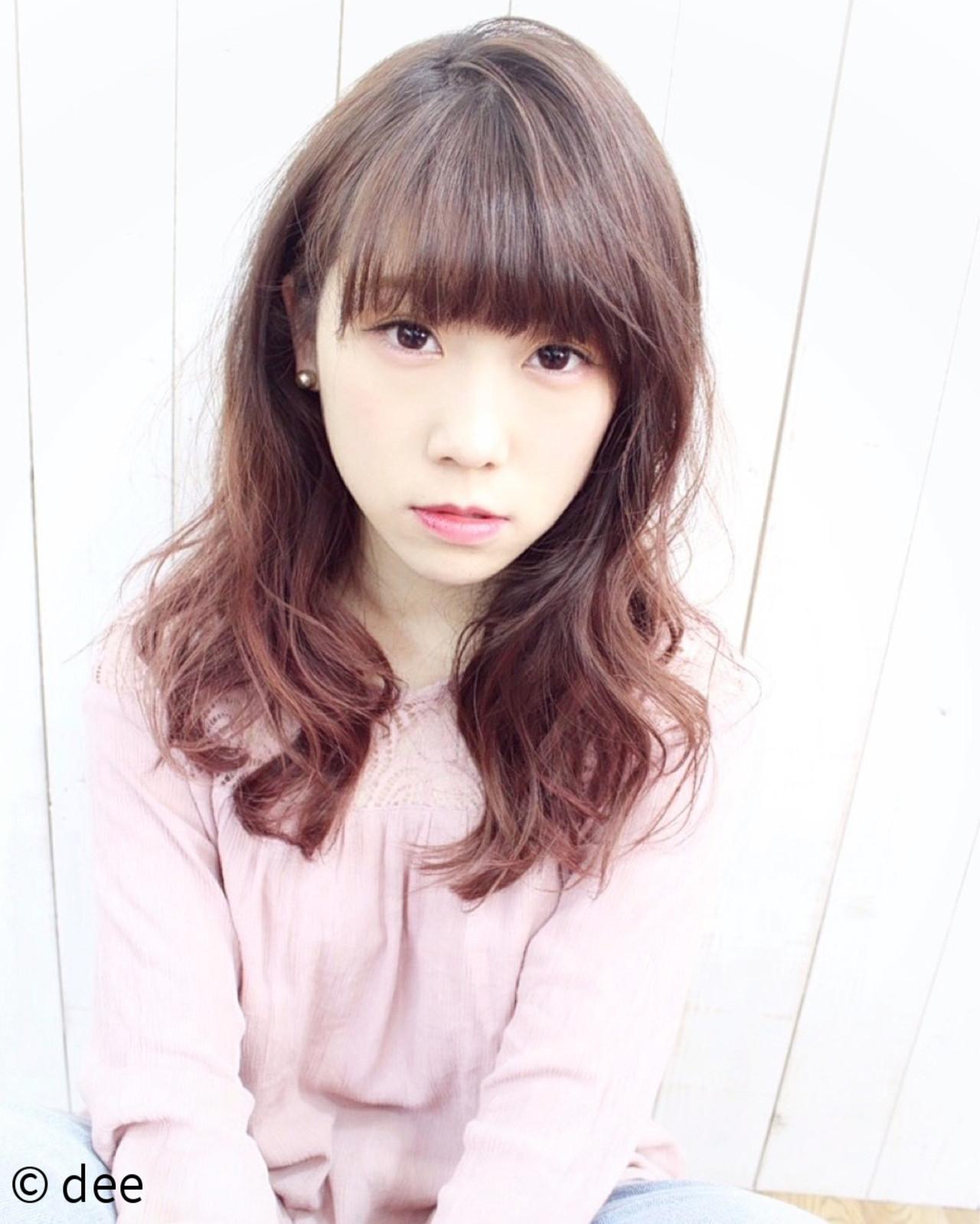 ほんのりピンク系カラーが女の子♪ dee | dee