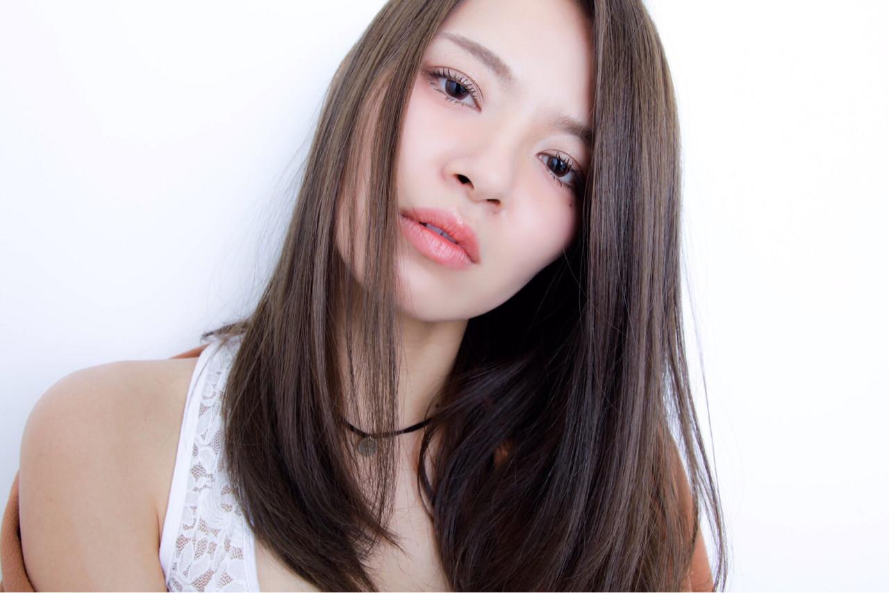 大人女子におすすめな髪型♡ワンレンロングヘア♡ YURI