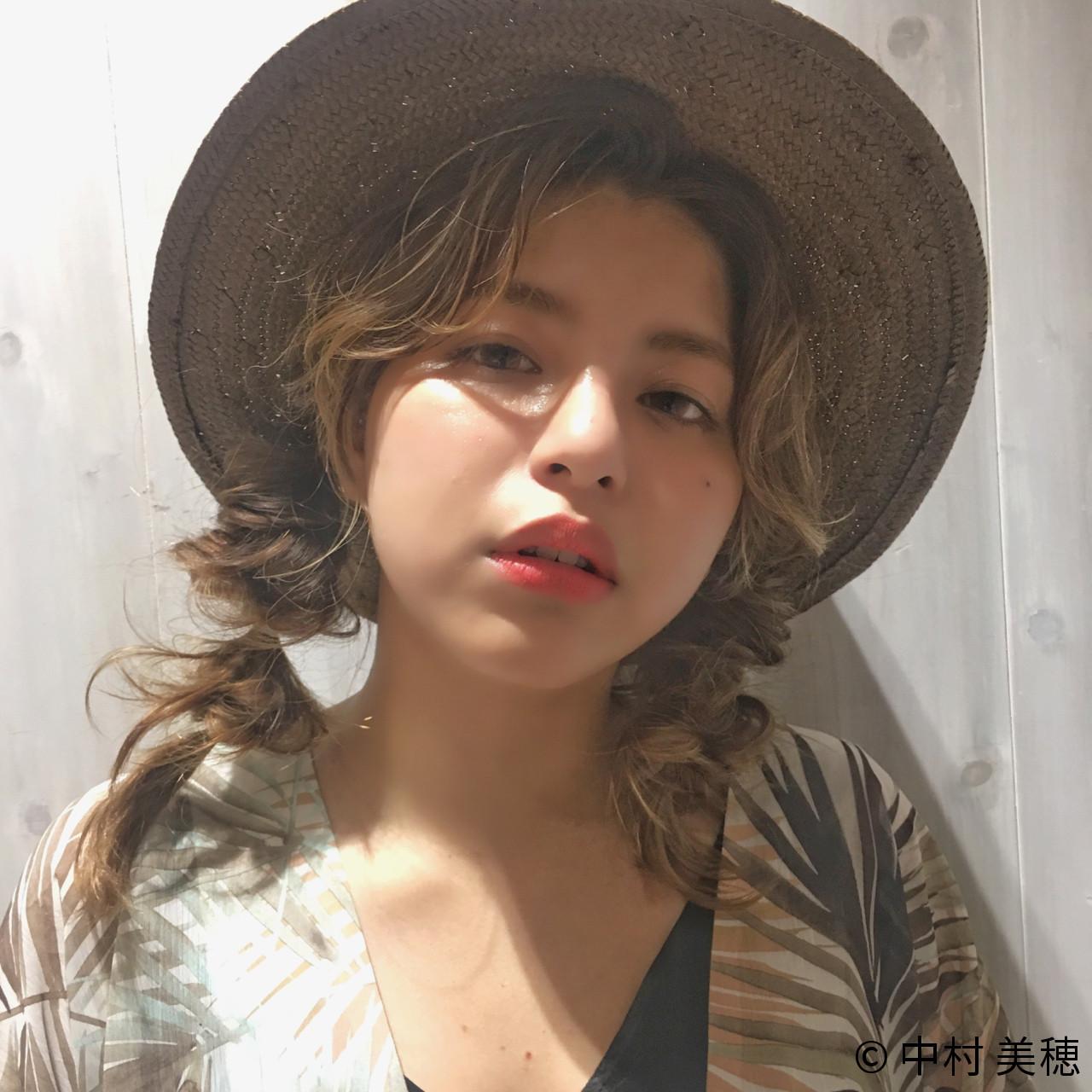 ツインも可愛く♡くるりんぱでつくる玉ねぎヘア 中村 美穂