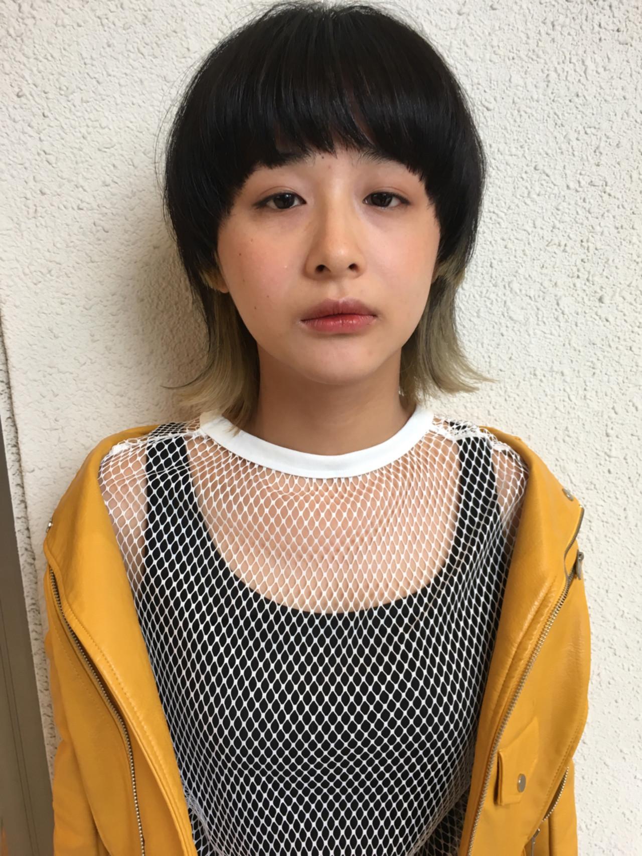 ぱっつん×マッシュウルフで小顔効果♪ 元橋啓太 | snob