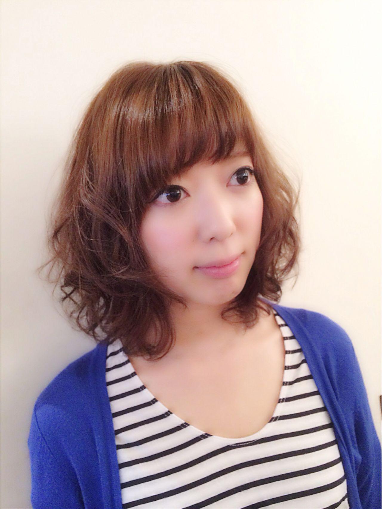 ふんわりフェミニンなパーマボブ♡ Doll hair 南 佳太 | Dollhair【ドールヘアー】