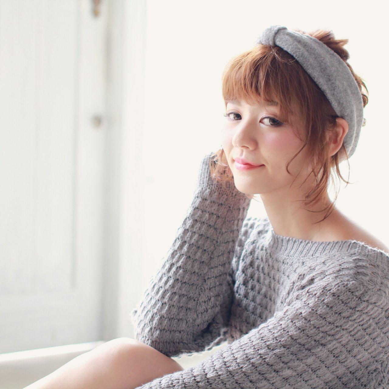 ターバンでかわいくカバーができちゃうアレンジ♪ 志賀 雅千子 | hair+resort bouquet