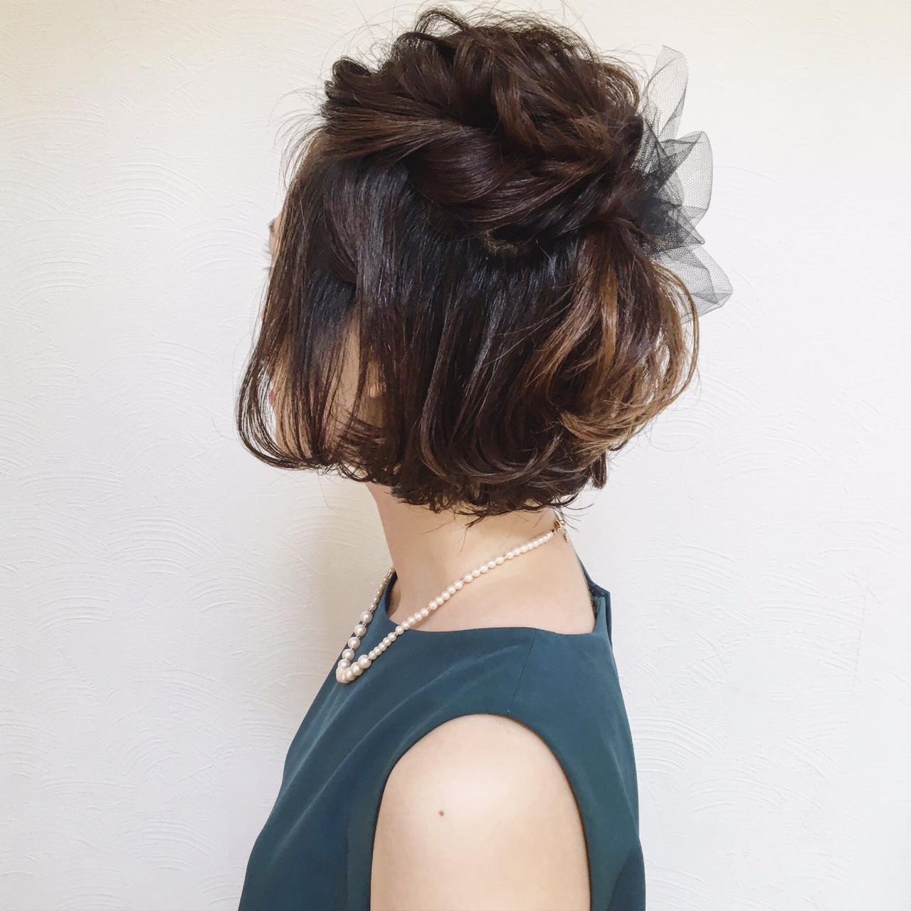 結婚式におすすめ ショートヘアのアレンジ方法をご紹介 Hair