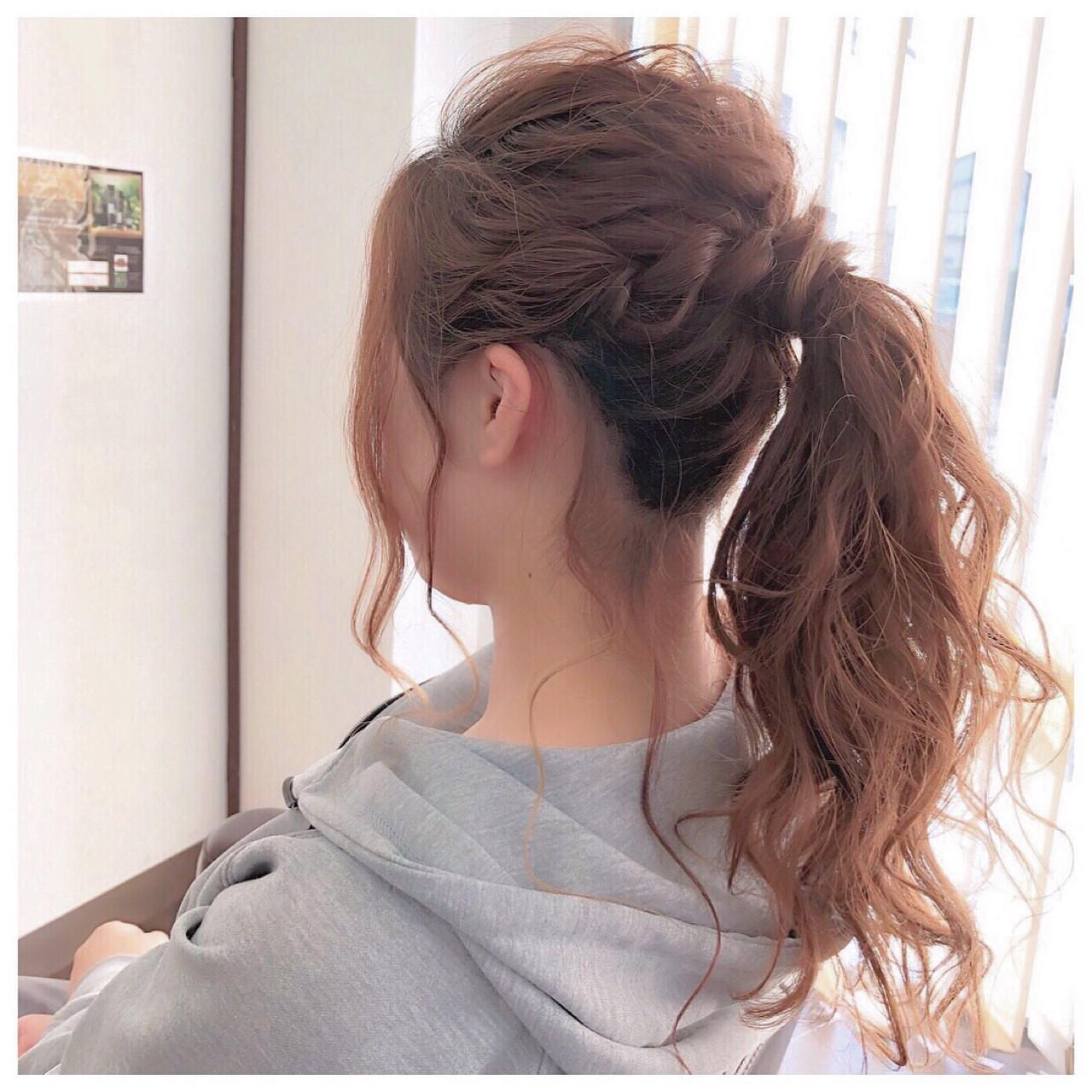 ふわっふわポニーテールの簡単ヘアアレンジ ヤマナカサトル | DIOR of Hair