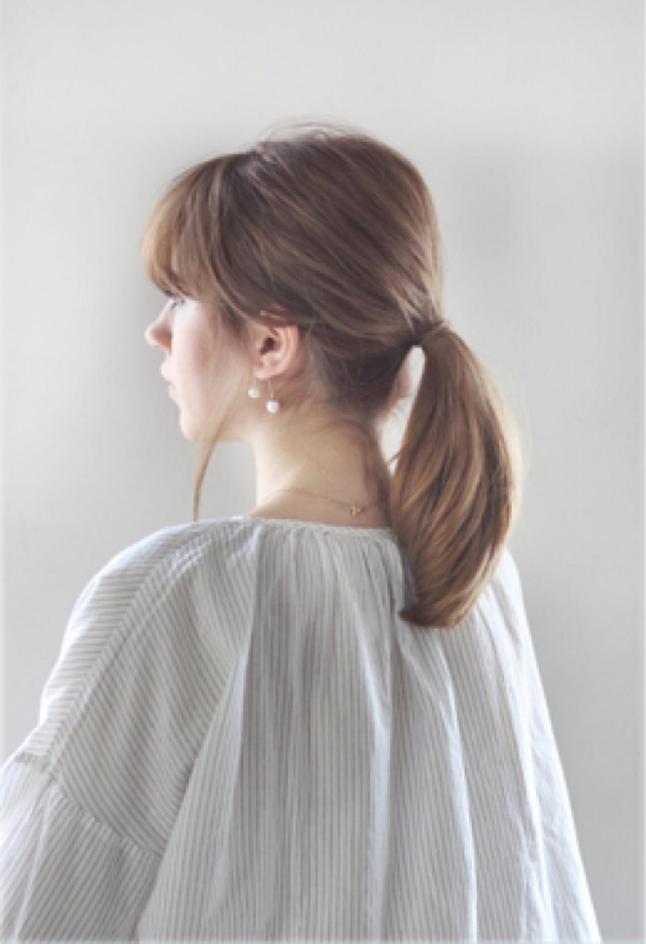 大人な垢抜けミディアムの簡単ヘア mod's hair/sasaki ayumi | mod's hair 新宿サウス店