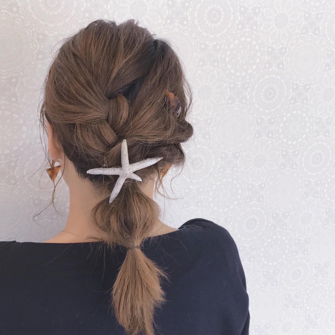 セミロング ガーリー 大人かわいい イルミナカラー ヘアスタイルや髪型の写真・画像