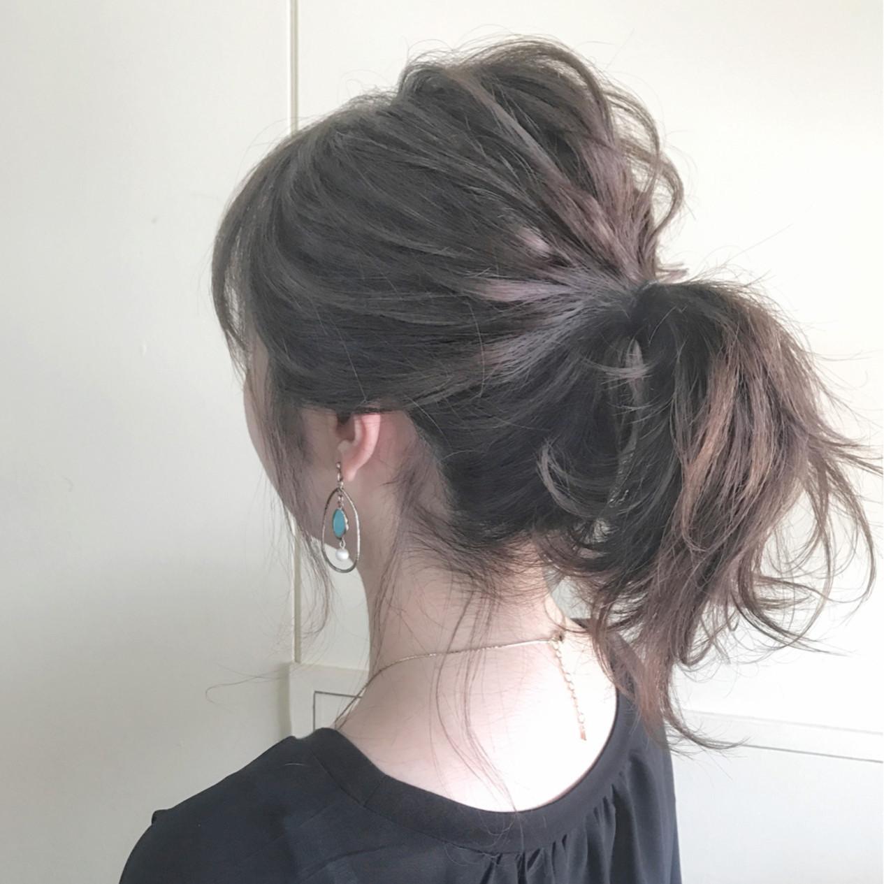 ポニーテールは毛先の巻き方で印象が変わるの?
