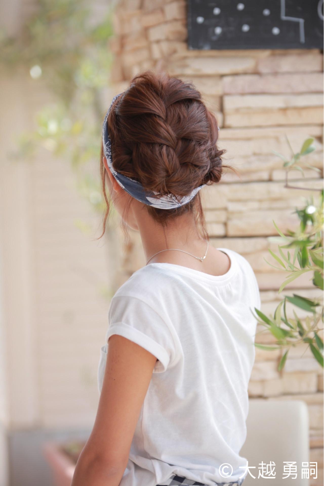 ショート 簡単ヘアアレンジ ガーリー ヘアアレンジ ヘアスタイルや髪型の写真・画像
