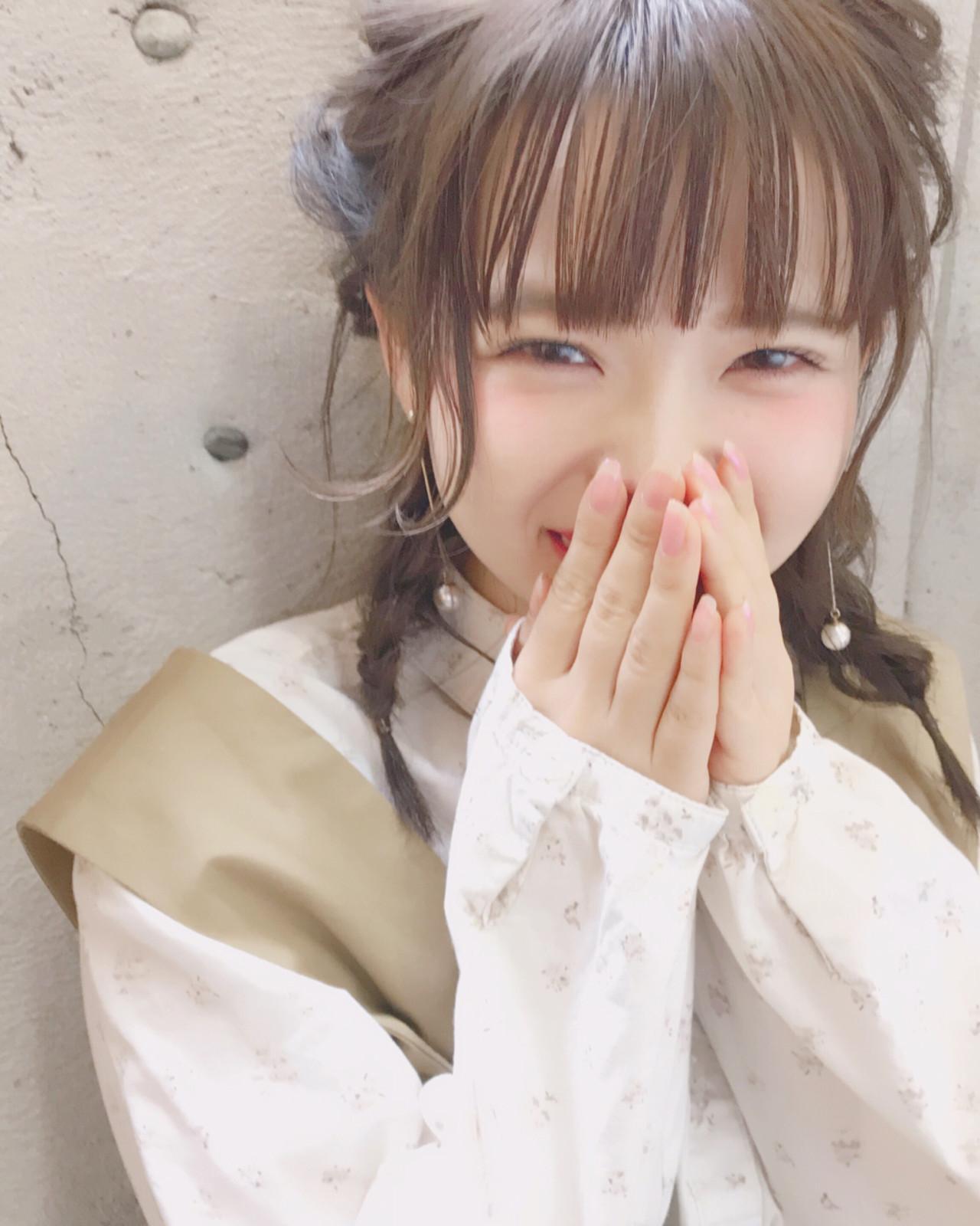 ぱっつん前髪がかわいさUPの秘訣♡三つ編みアレンジ Wataru Maeda