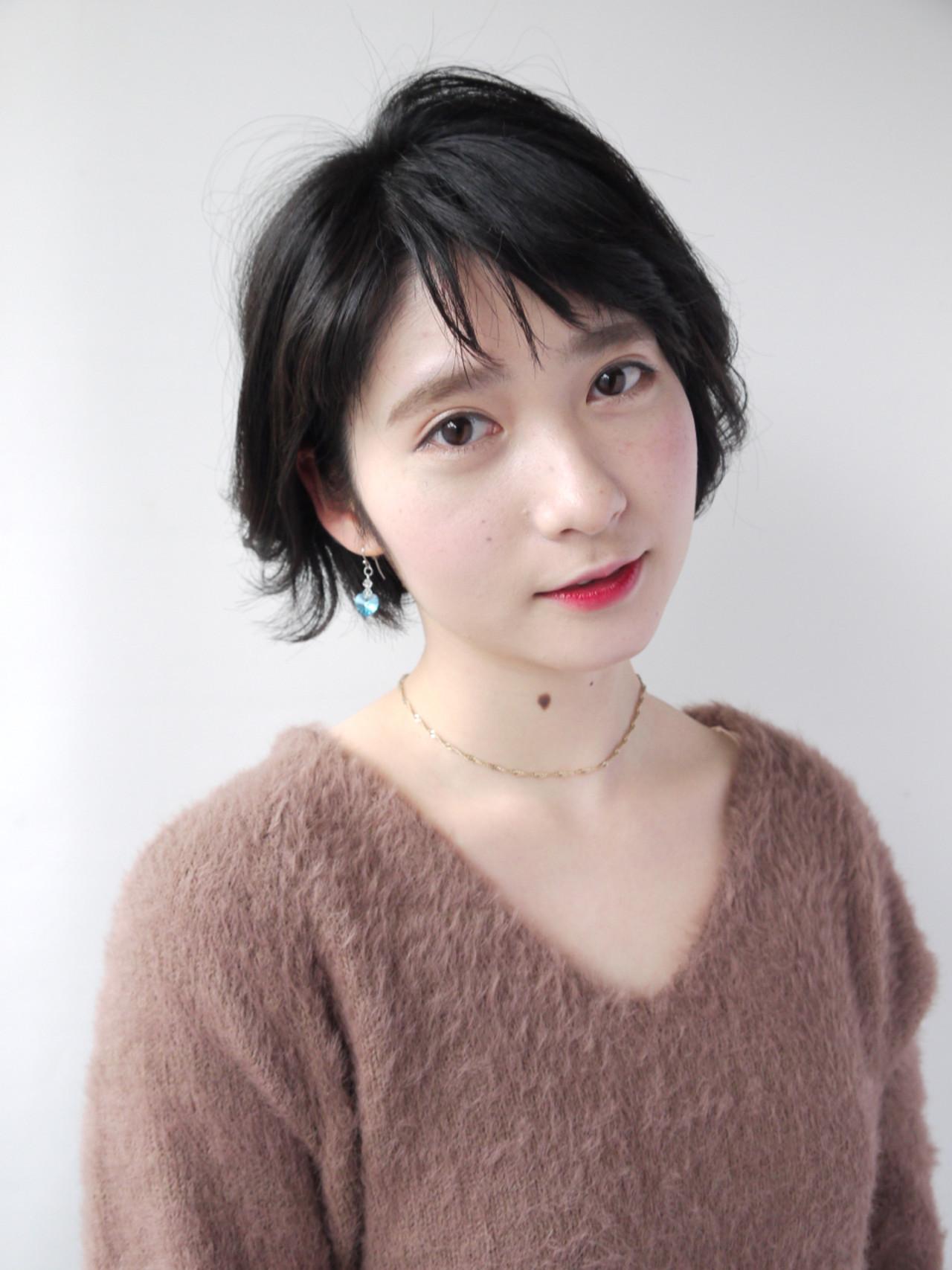 意外に万能!ショートヘア Hiroki Sakuma | モリオフロムロンドン原宿本店