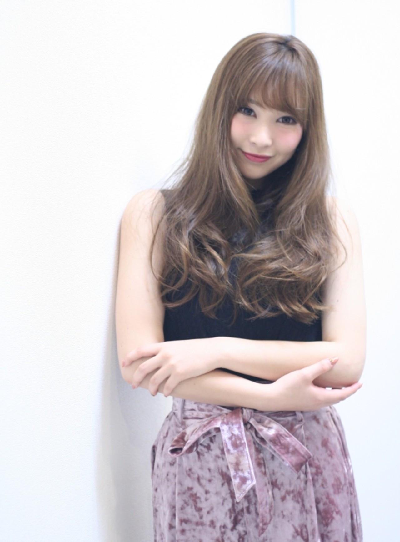 パッツン前髪は分けて巻くのがコツ♪ Naoko Miura | avant