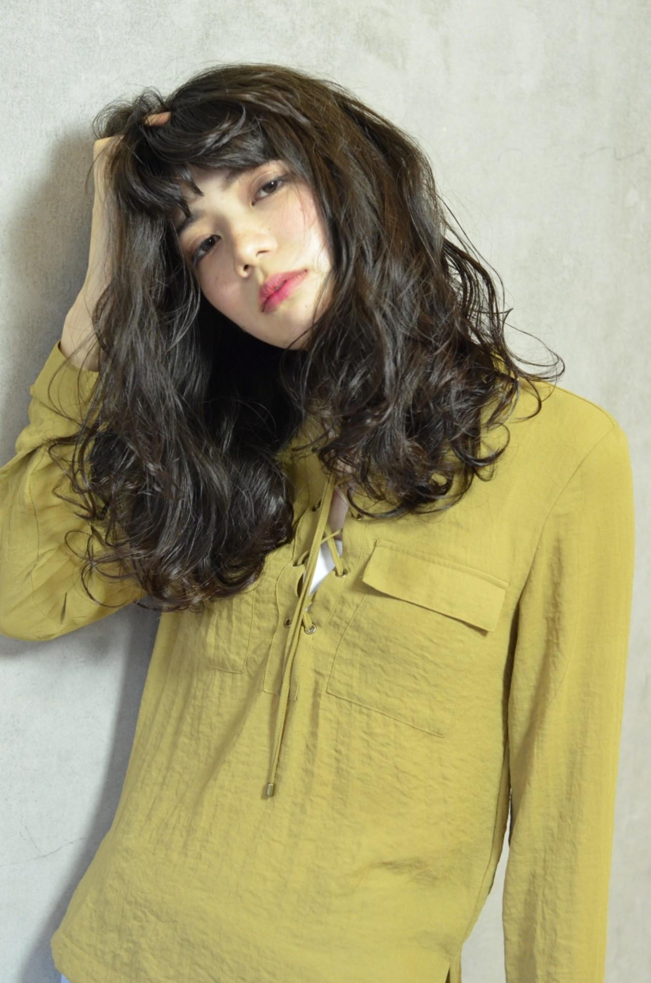 重めウェーブでしっとり大人スタイル☆ 【dress】大杉匡史