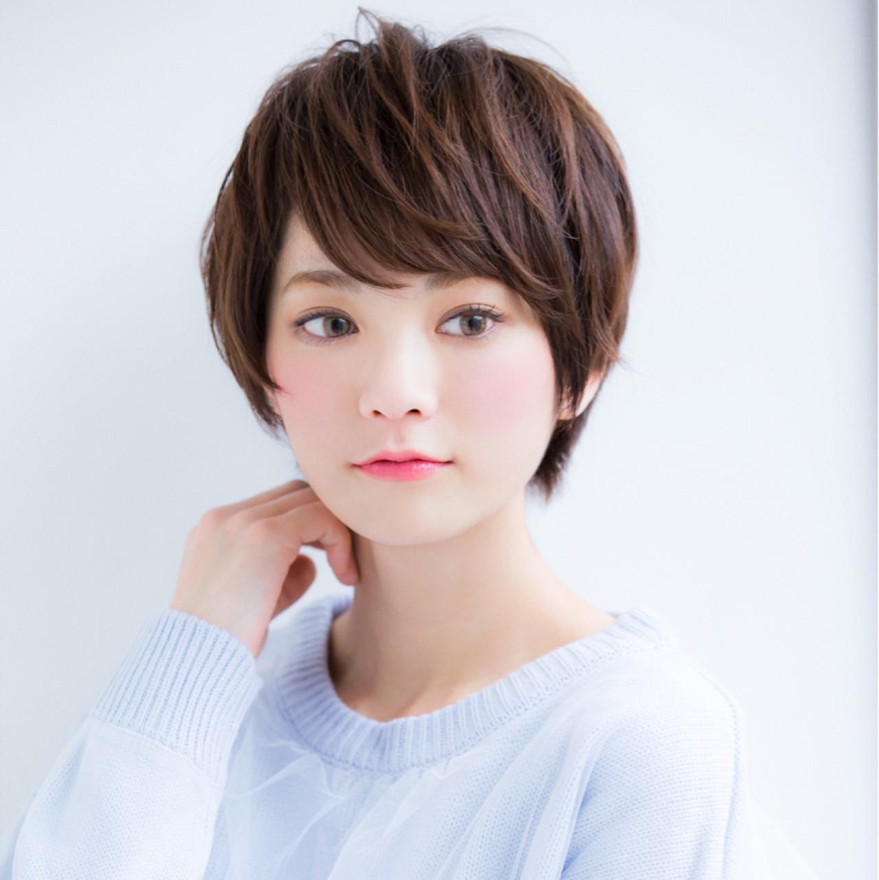 大人可愛い♡ひし形ショートボブ 【ボブ美容師】東 純平 | 【GARDEN】 Ramie omotesando