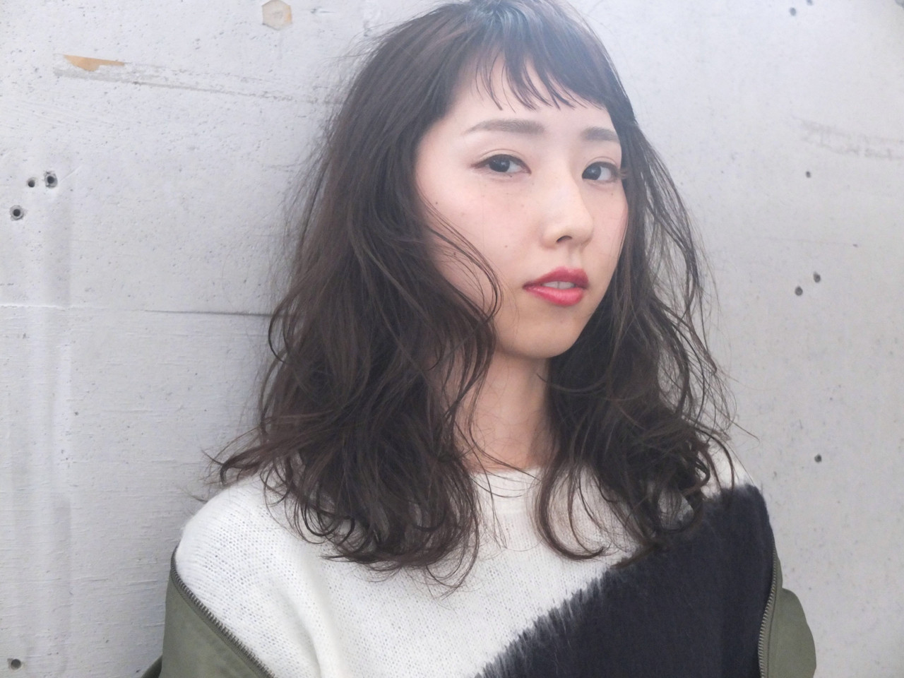 個性的なショートバングとパーマで大人可愛く♡ 金子 奈那美 | FAIR LADY shimokitazawa