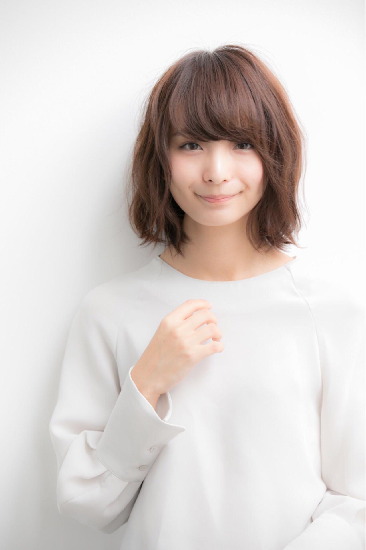 ゆるめパーマで大人可愛い色っぽボブ♡ 宮本 誉志成 | Euphoria SHIBUYA GRANDE