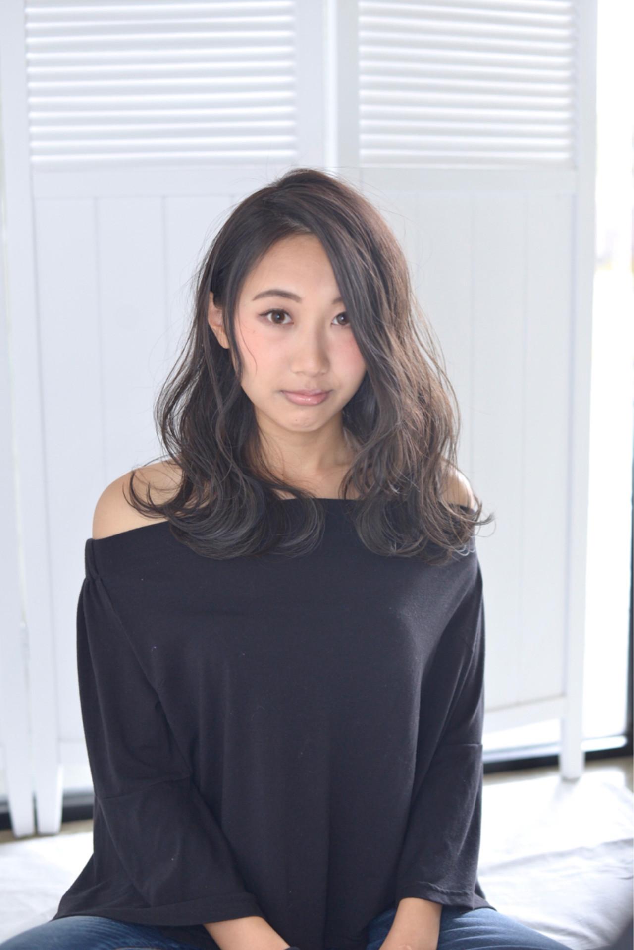 暗髪大きめカールでグラマラスに♡ 中野 裕介/jap international | JAP international Ssalon