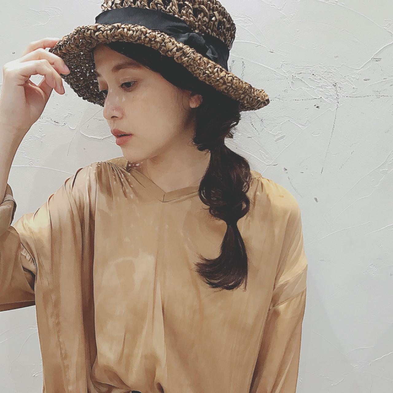 帽子と合わせたいヘアアレンジ NEUTRAL 中園 香峰 | NEUTRAL produced by GARDEN