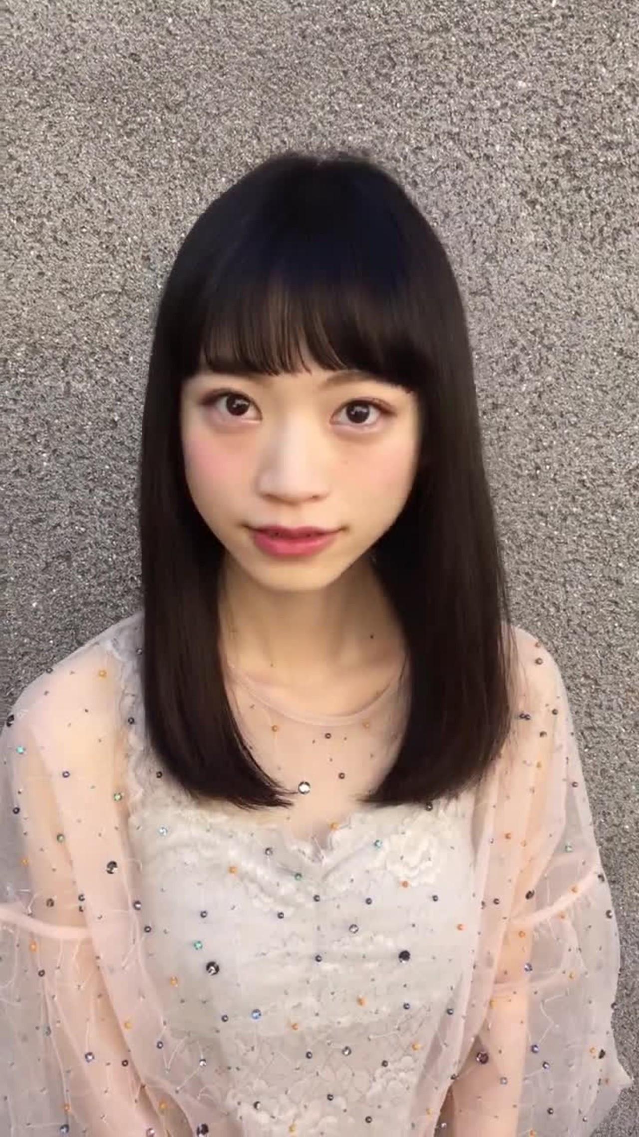 ぱっつん前髪で目元を可愛く演出 福田一真